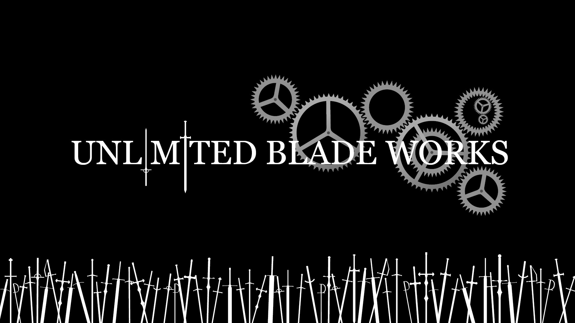 … KurogamiAnnaahl Unlimited Blade Works Sihouette Ver. by KurogamiAnnaahl