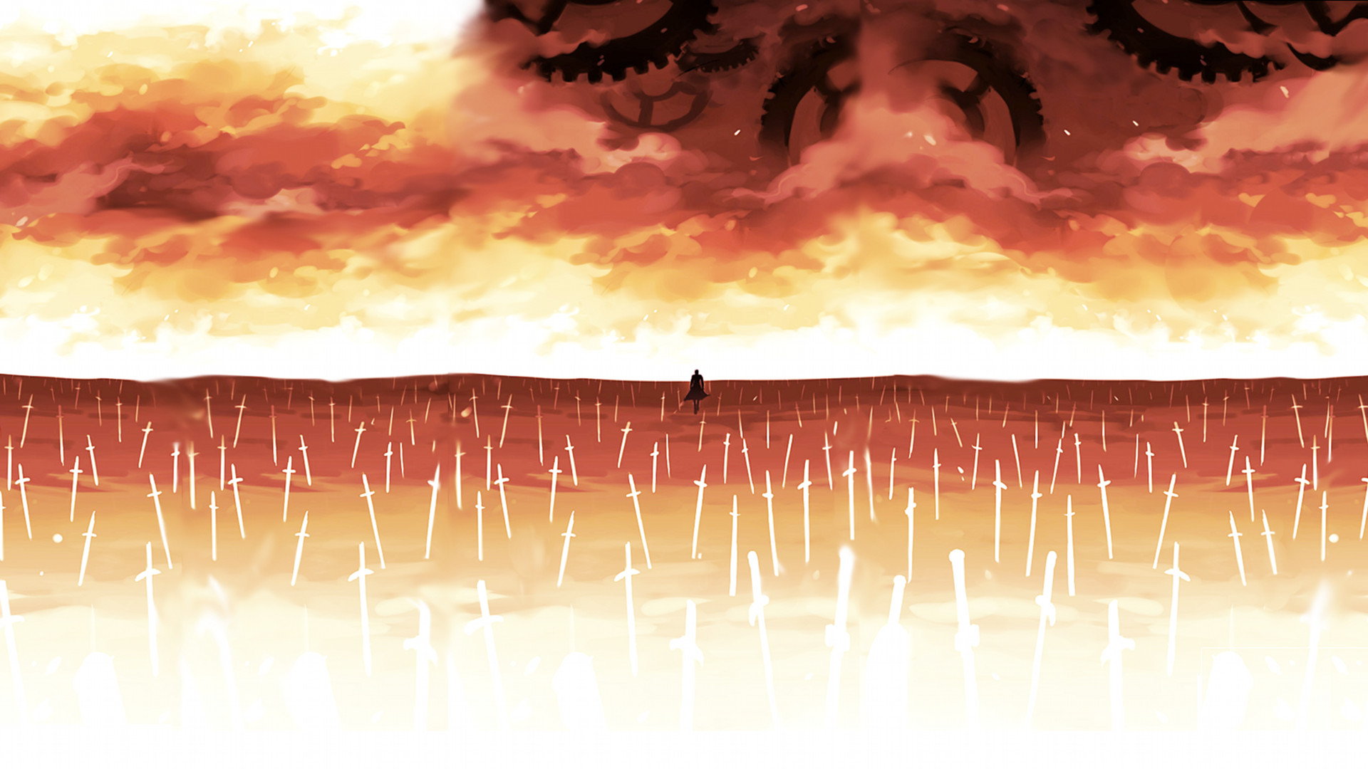 my current one, i ******* love unlimited blade works