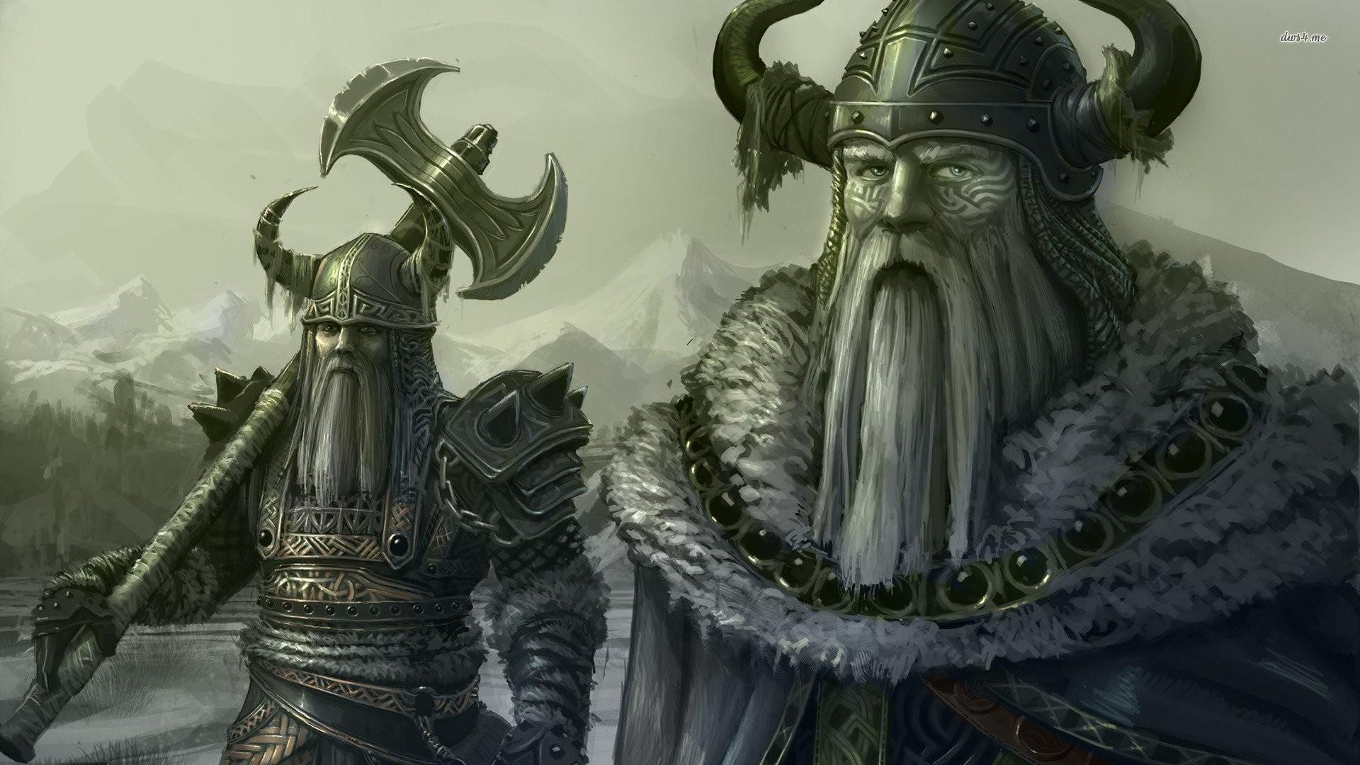 Viking Fantasy Wallpapers | WallpapersIn4k.net
