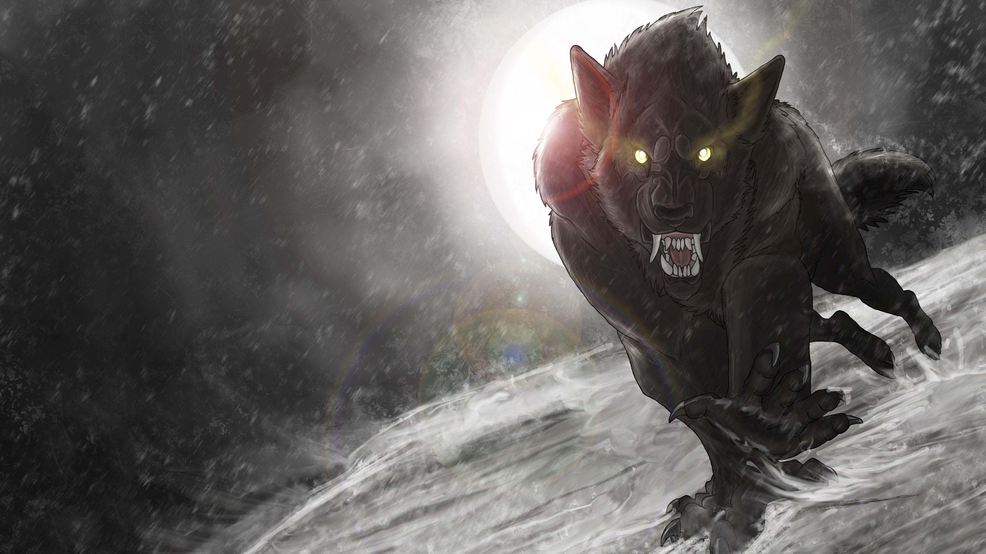 images of werewolves Werewolf HD Wallpaper Background For
