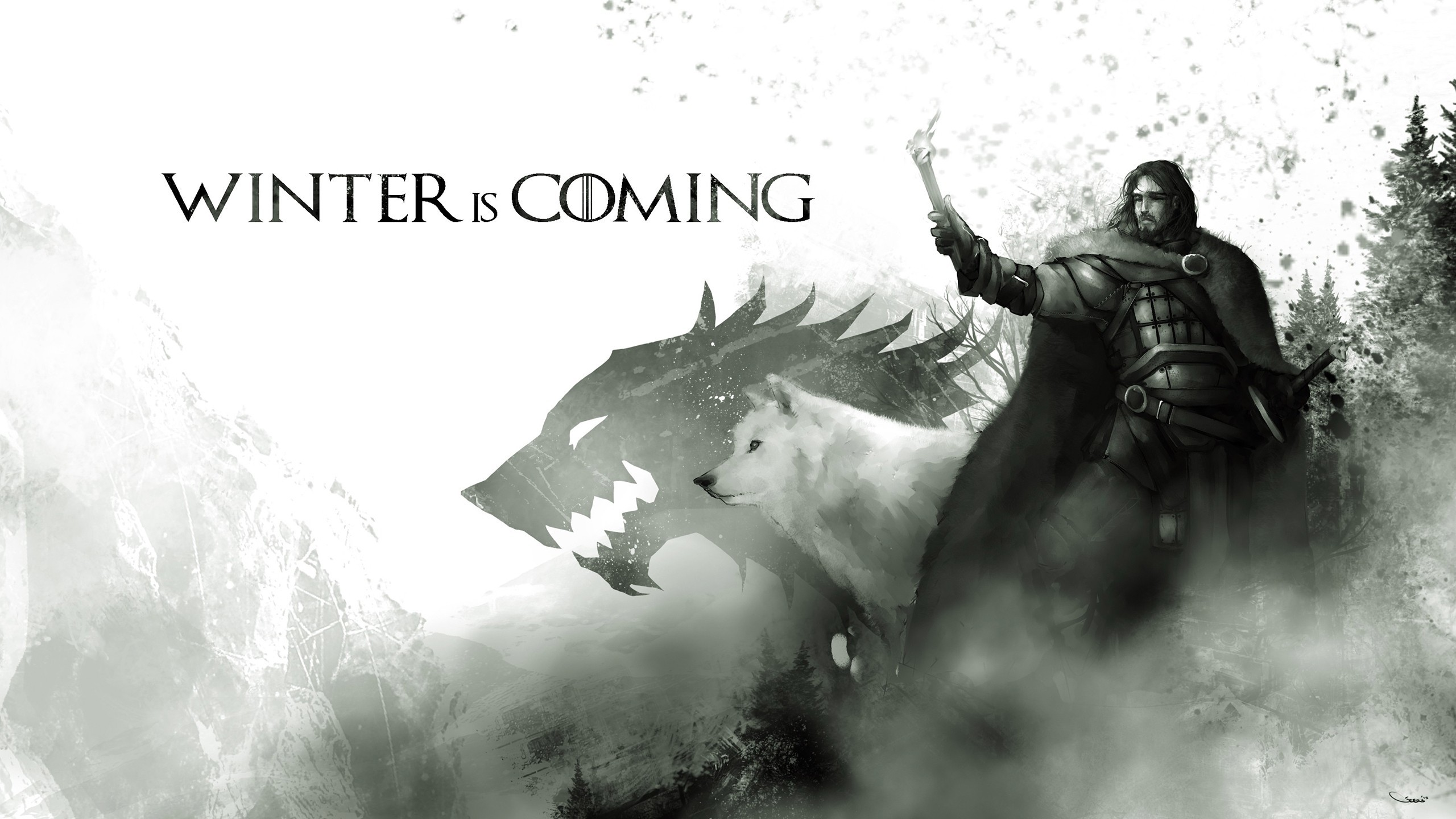 Game Of Thrones, Artwork, Jon Snow Wallpapers HD / Desktop and Mobile  Backgrounds