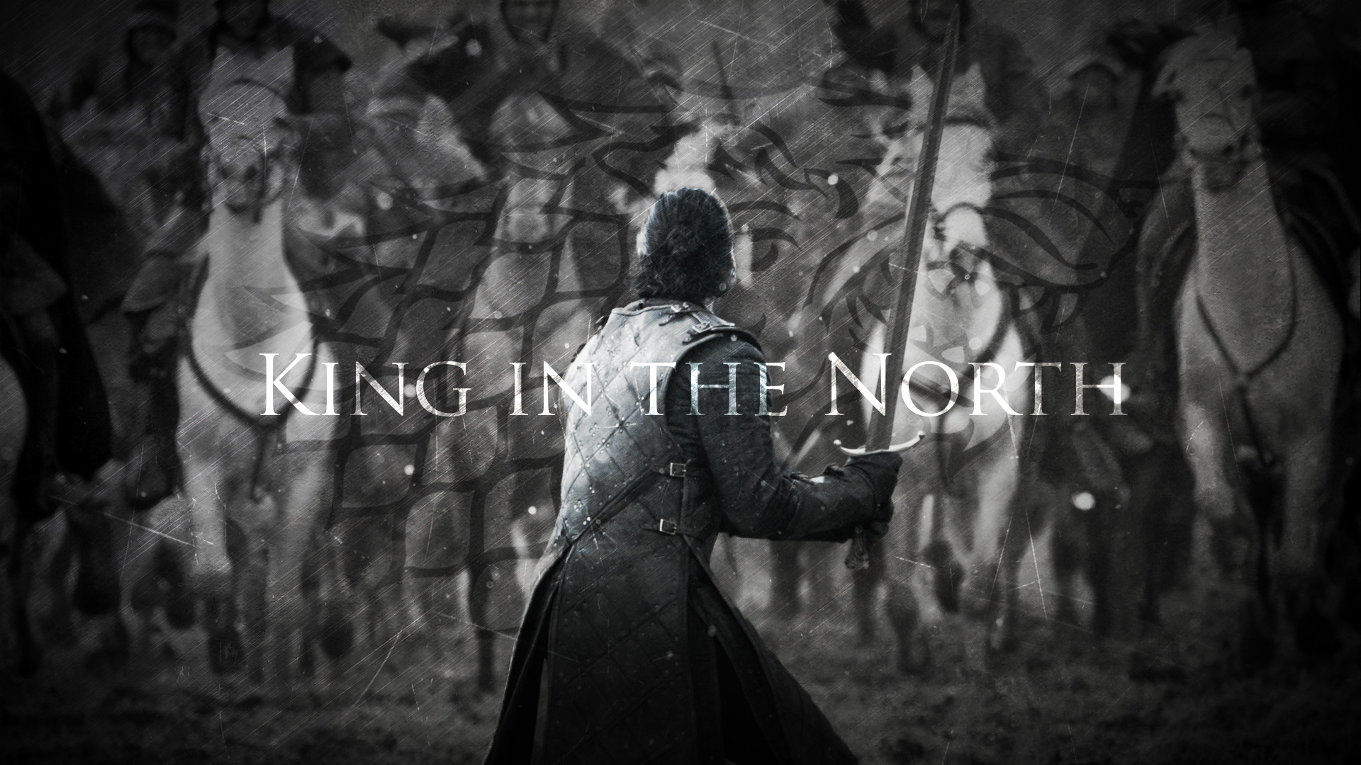 … King in the North   Jon Snow   Game of Thrones by TaigaLife