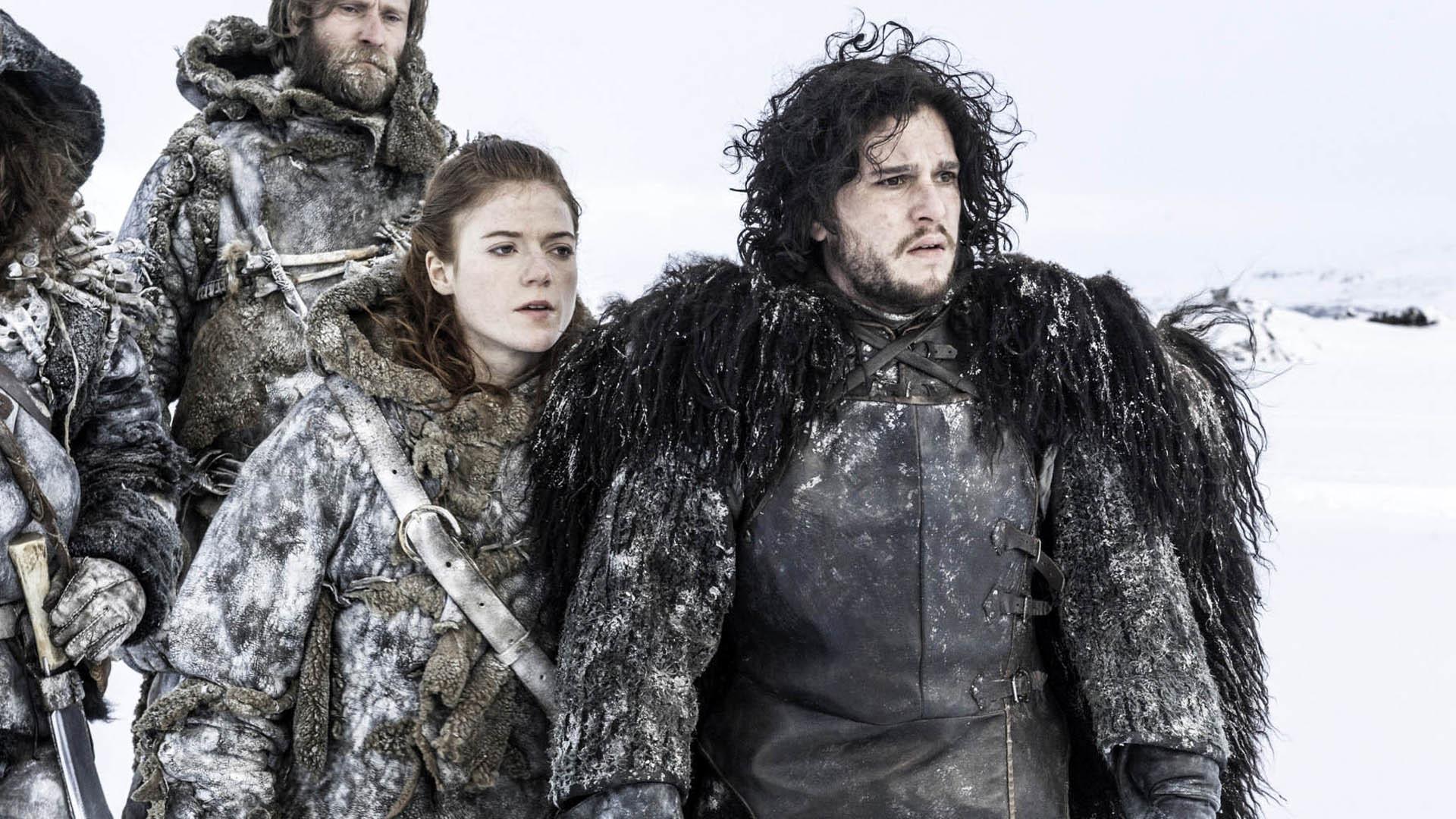 Ygritte and Jon Snow (Rose Leslie, Kit Harington) – Game of Thrones  1920×1080