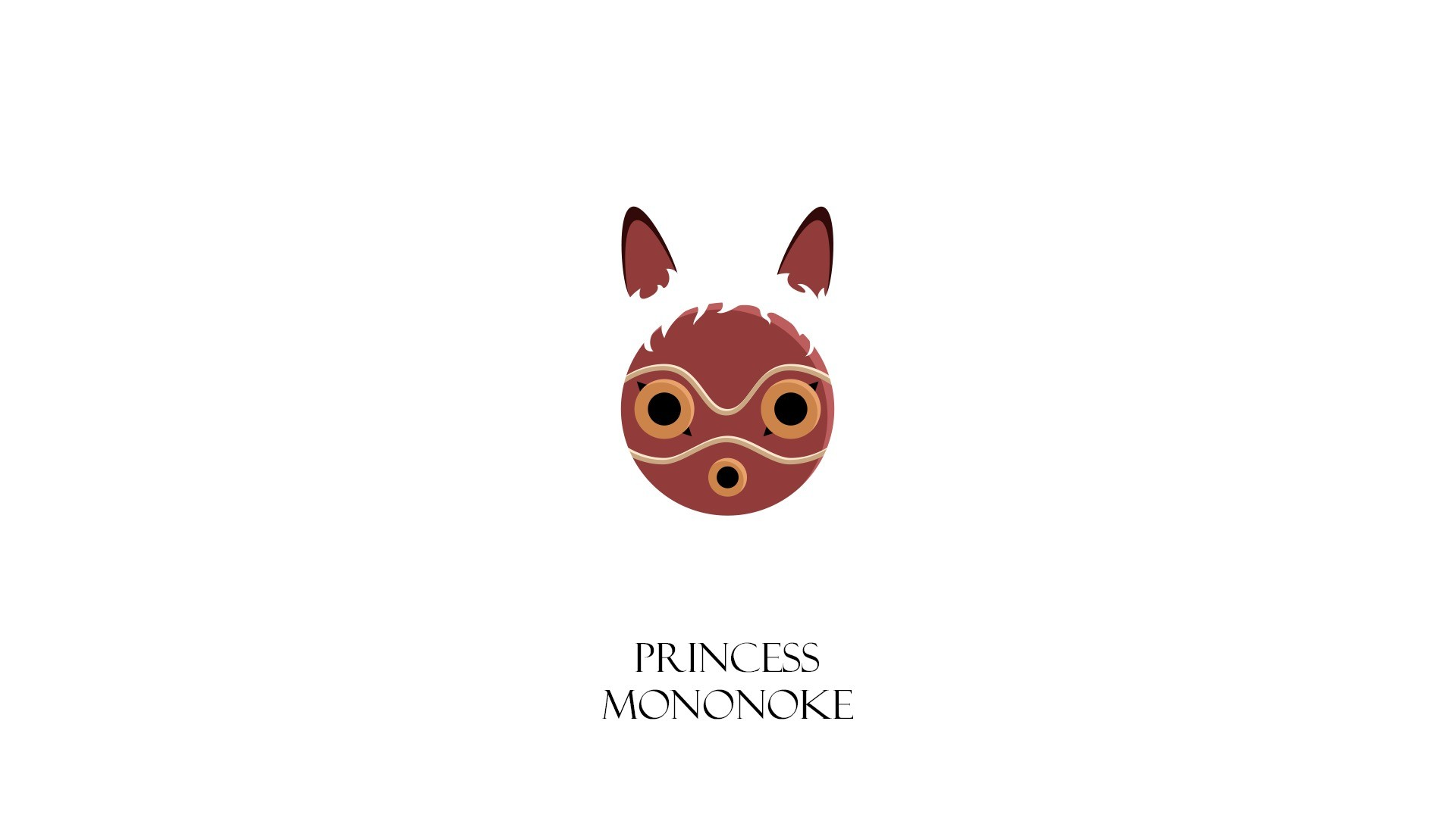 Made a Princess Mononoke wallpaper