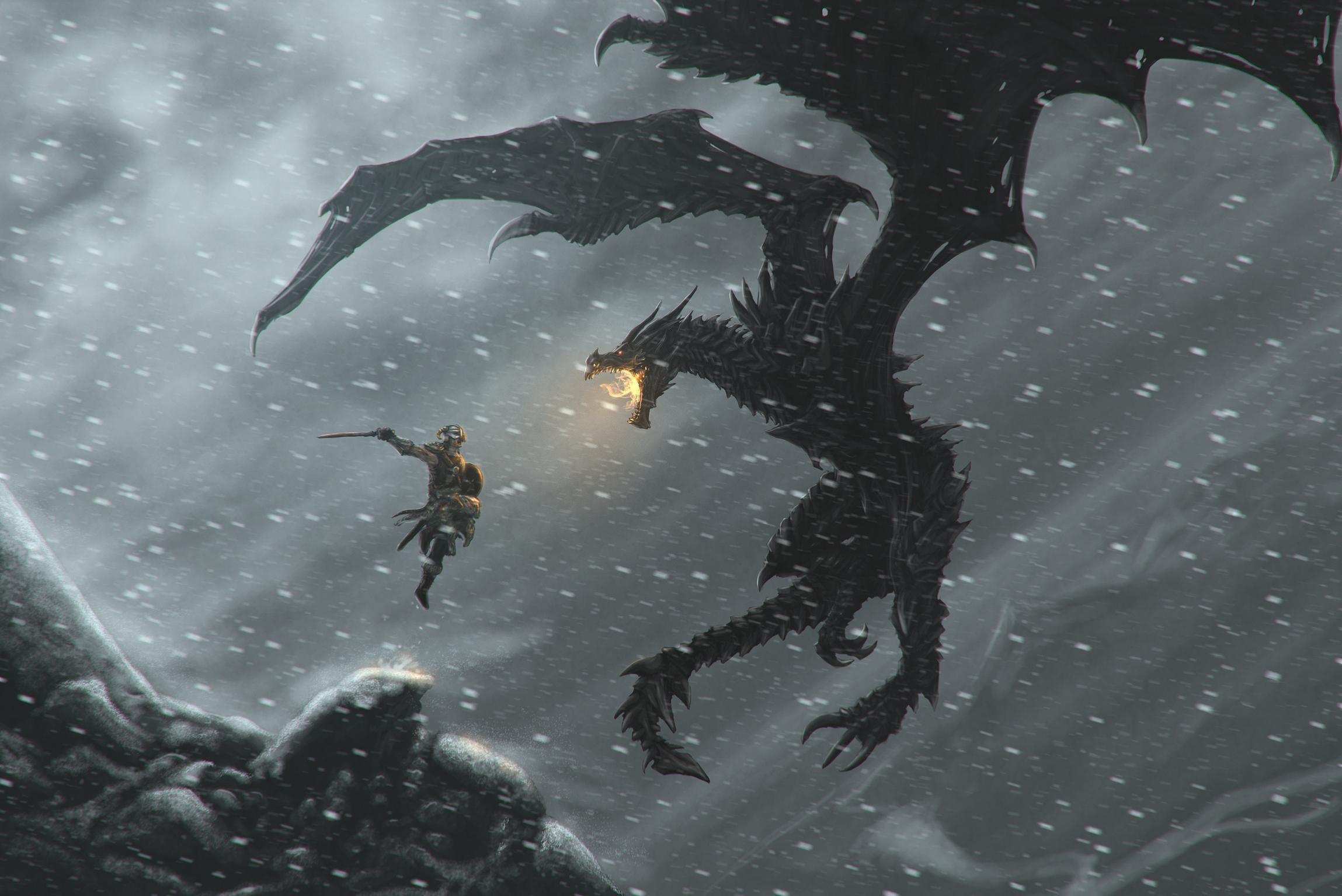 1236 The Elder Scrolls V: Skyrim HD Wallpapers   Backgrounds – Wallpaper  Abyss