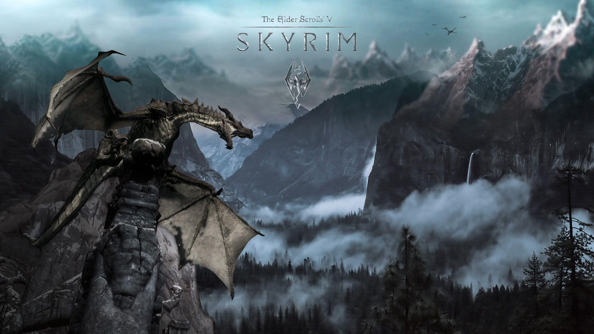 Skyrim Backgrounds – Wallpaper Cave