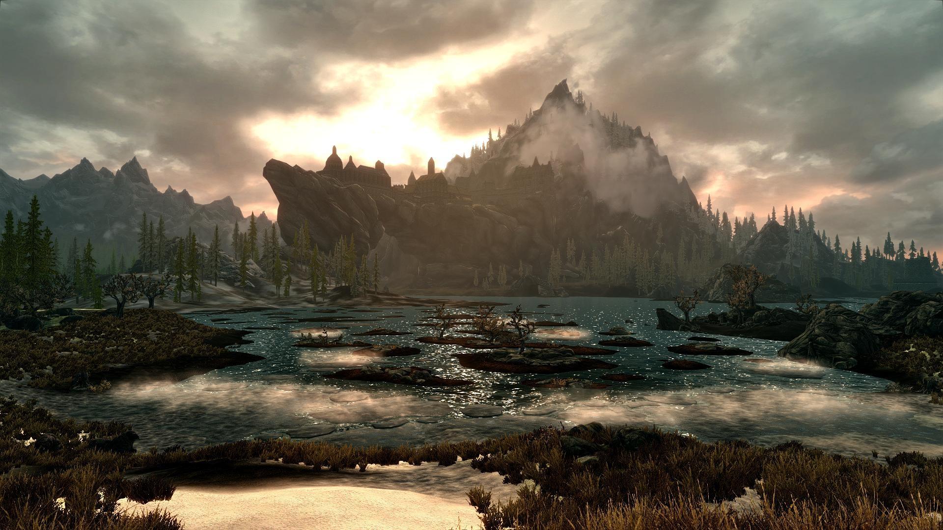 Skyrim Landscape Photo