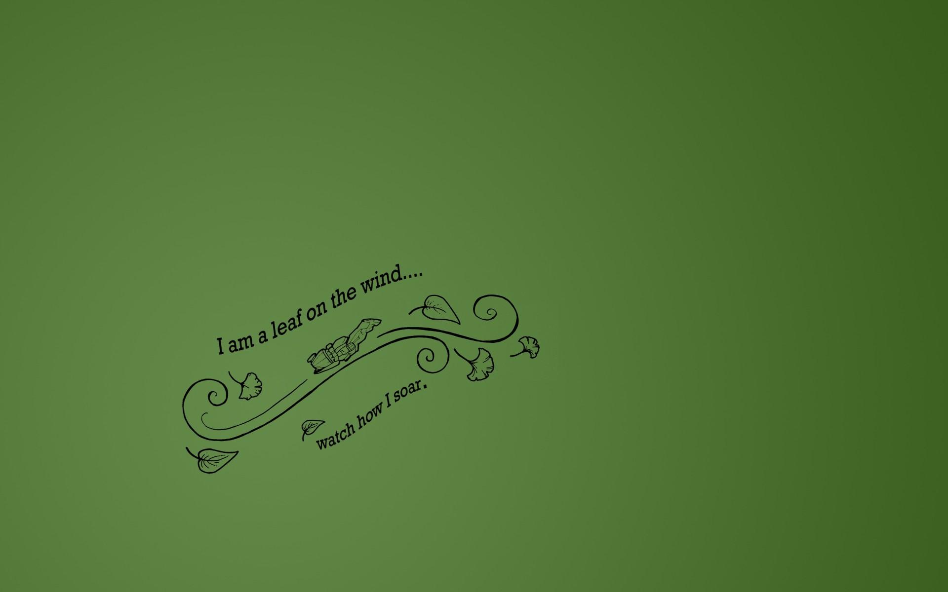 I am a leaf on the wind – qwertee shirt design as a wallpaper