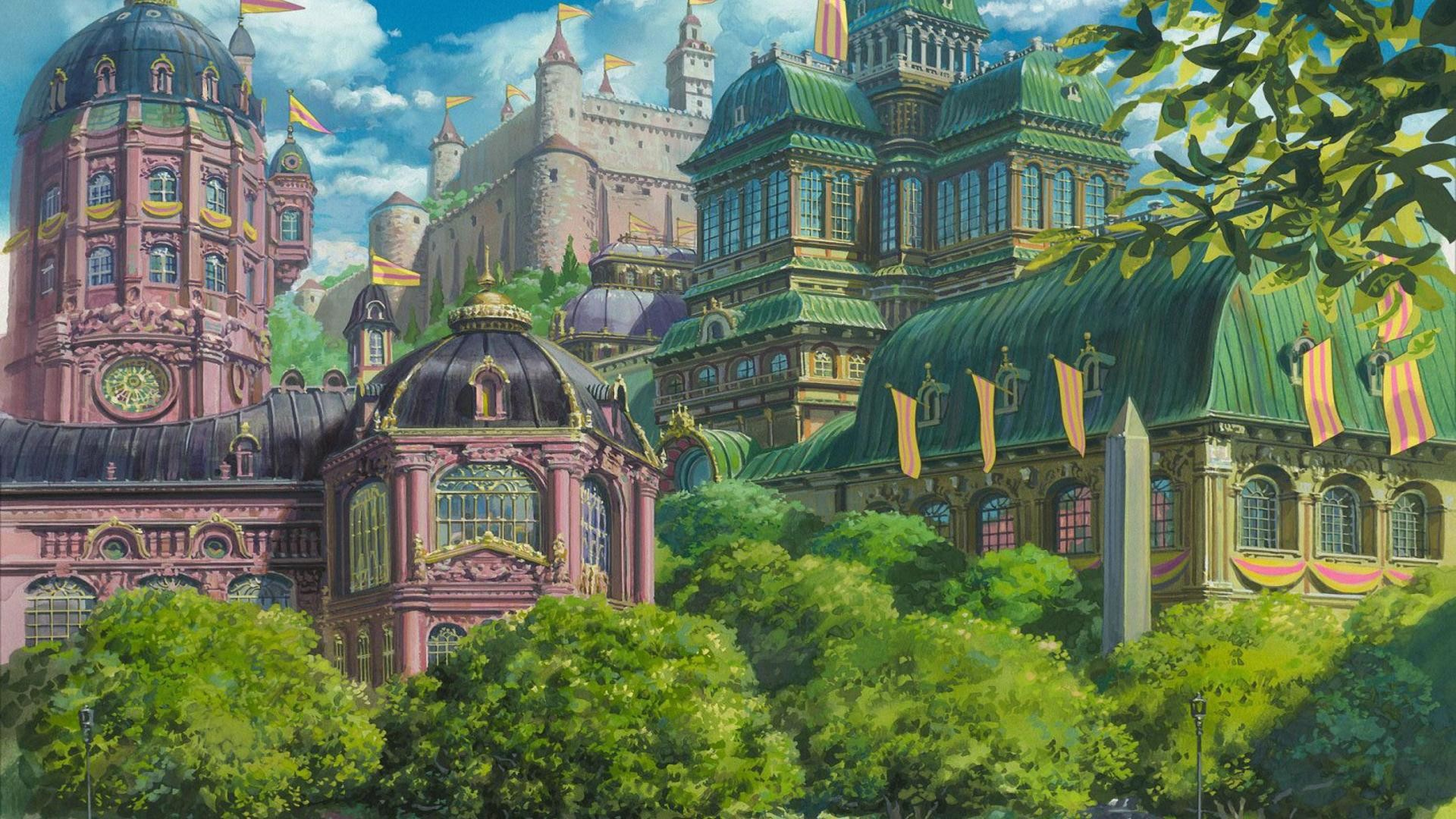 HOWL S MOVING CASTLE WALLPAPER – (#90136) – HD Wallpapers .