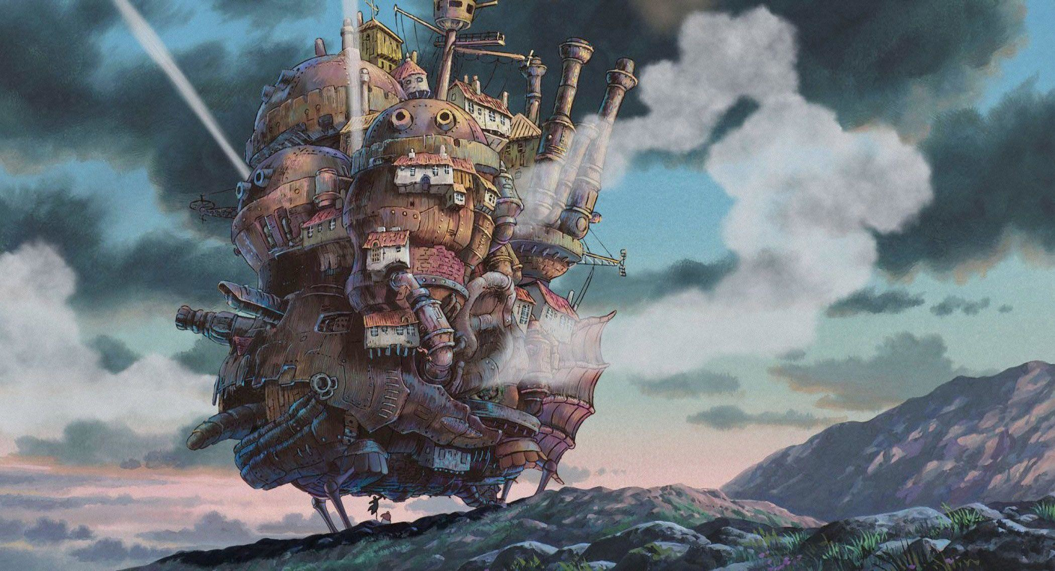 51 Howl's Moving Castle HD Wallpapers | Backgrounds – Wallpaper Abyss
