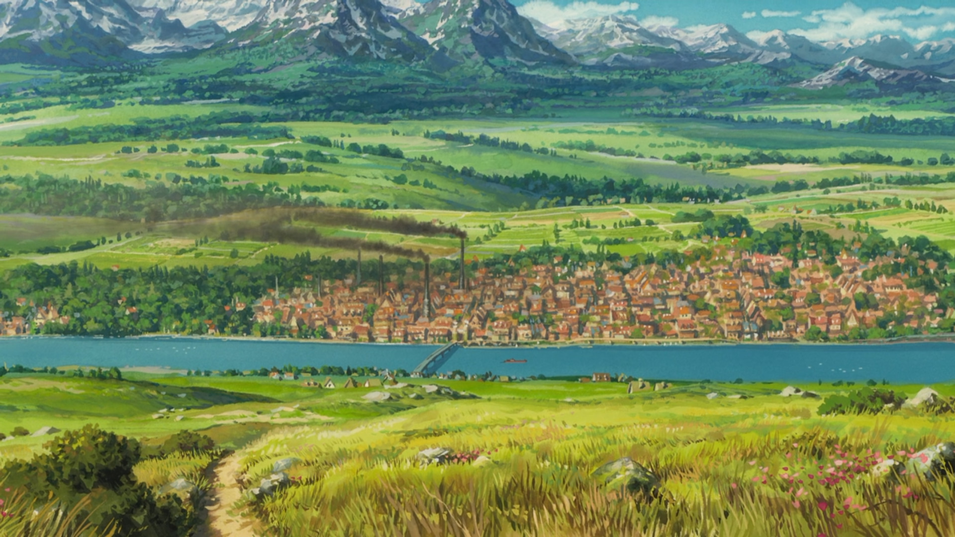 Howl's Moving Castle (2004) – Background Design | Art of Animation |  Pinterest | Studio ghibli, Studio and Animation