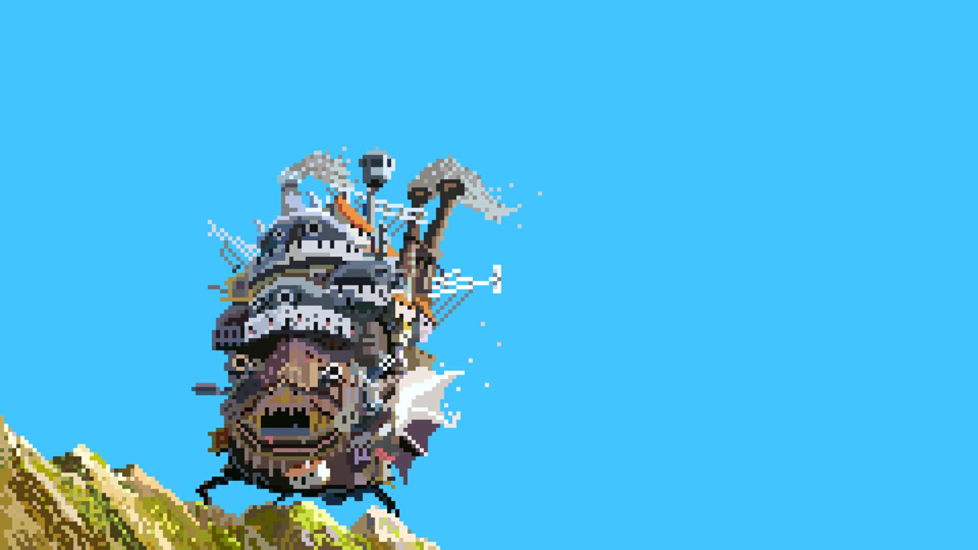Studio Ghibli, Howls Moving Castle, Love Wallpapers HD / Desktop and Mobile  Backgrounds