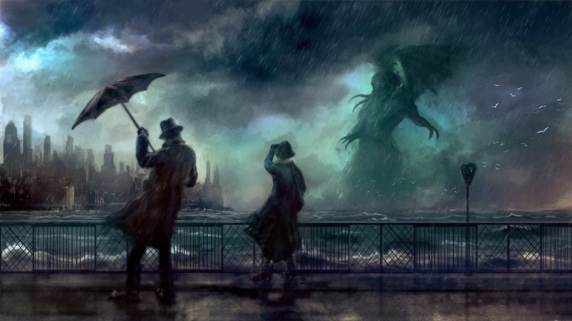 … artwork cthulhu wallpapers hd desktop and mobile backgrounds …