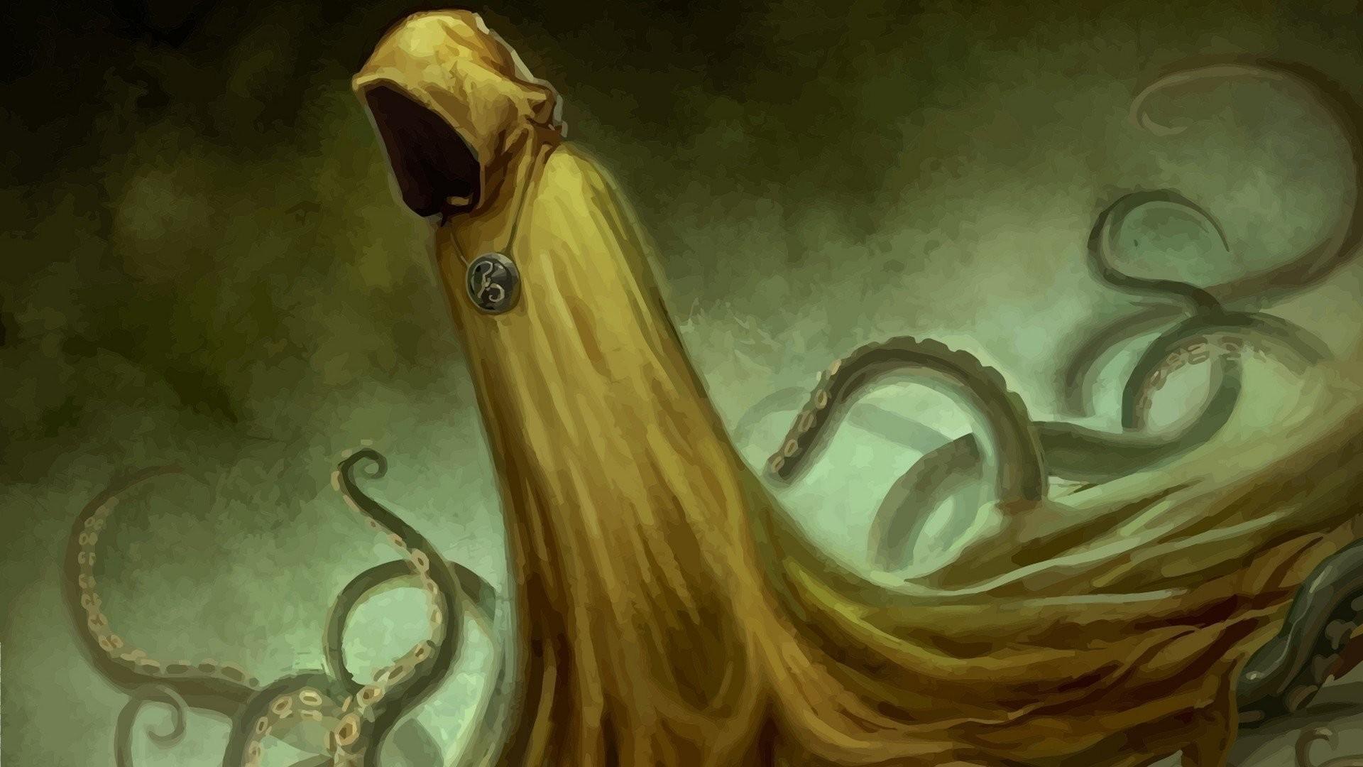 Fantasy – Dark H. P. Lovecraft Hastur Cthulhu Wallpaper