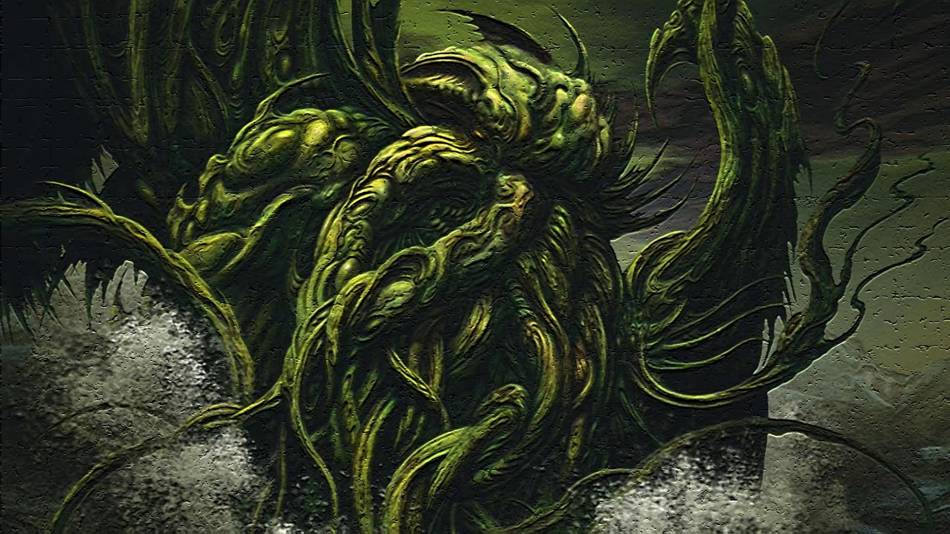 cthulhu wallpaper to download (Essex Walter 1920×1080)