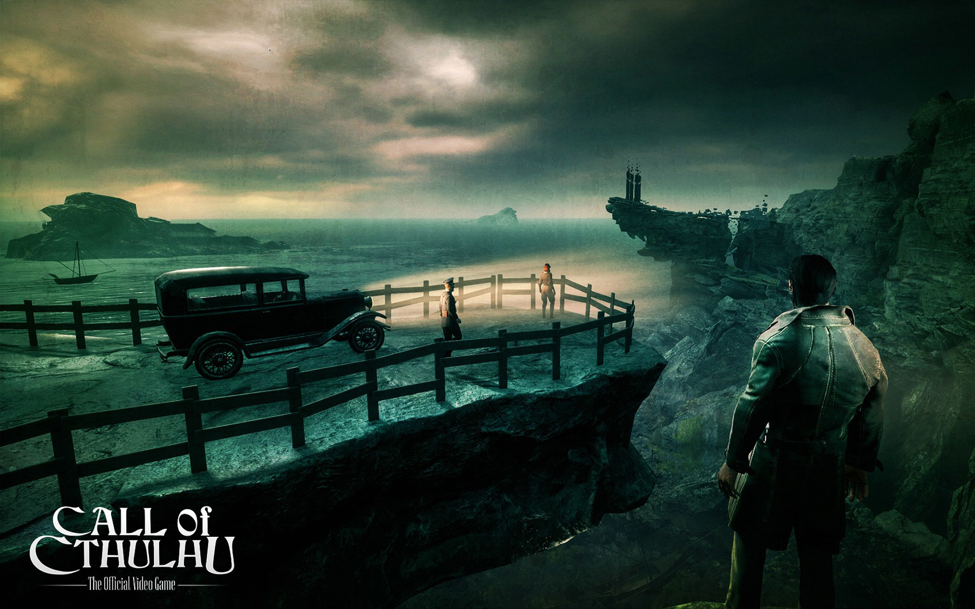 Free Call of Cthulhu Wallpaper in 1920×1200