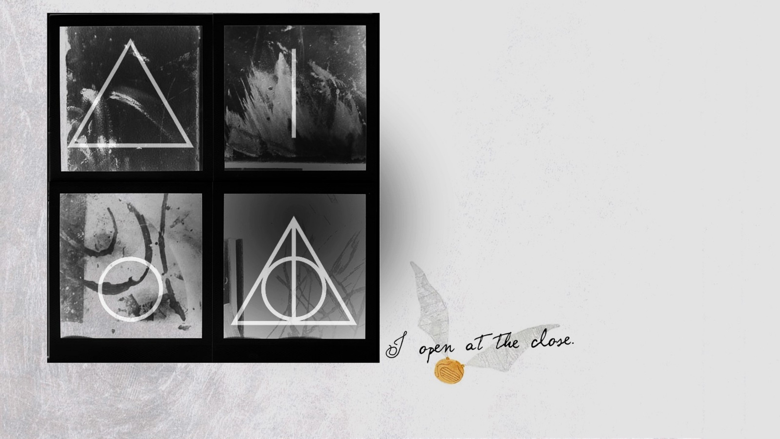 quotes harry potter grayscale harry potter and the deathly hallows snitch  symbols 1600×900 wallpa Art HD