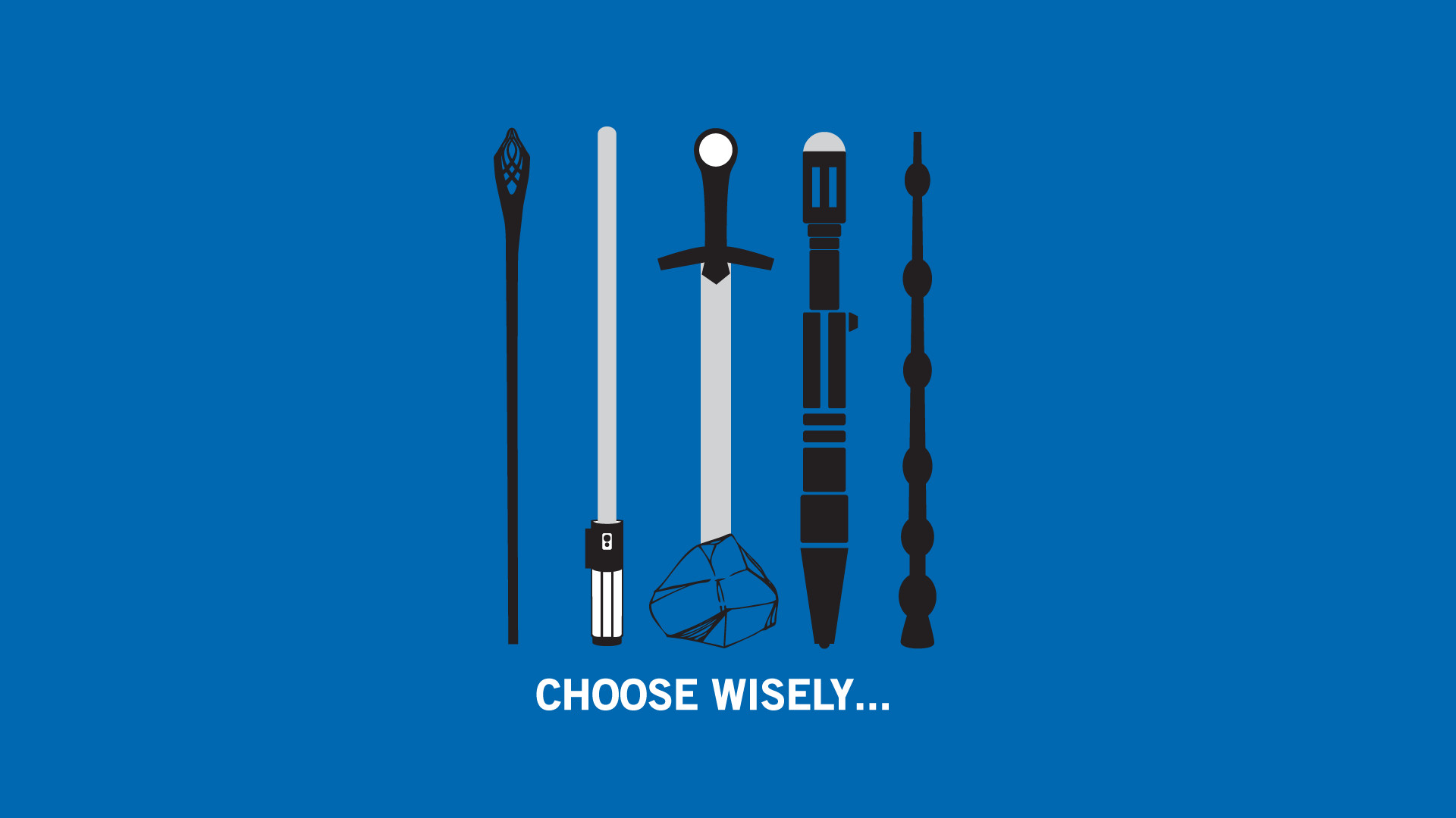 Caliburn Crossovers Doctor Who Funny Harry Potter Lightsabers Minimalistic  Star Wars Wand
