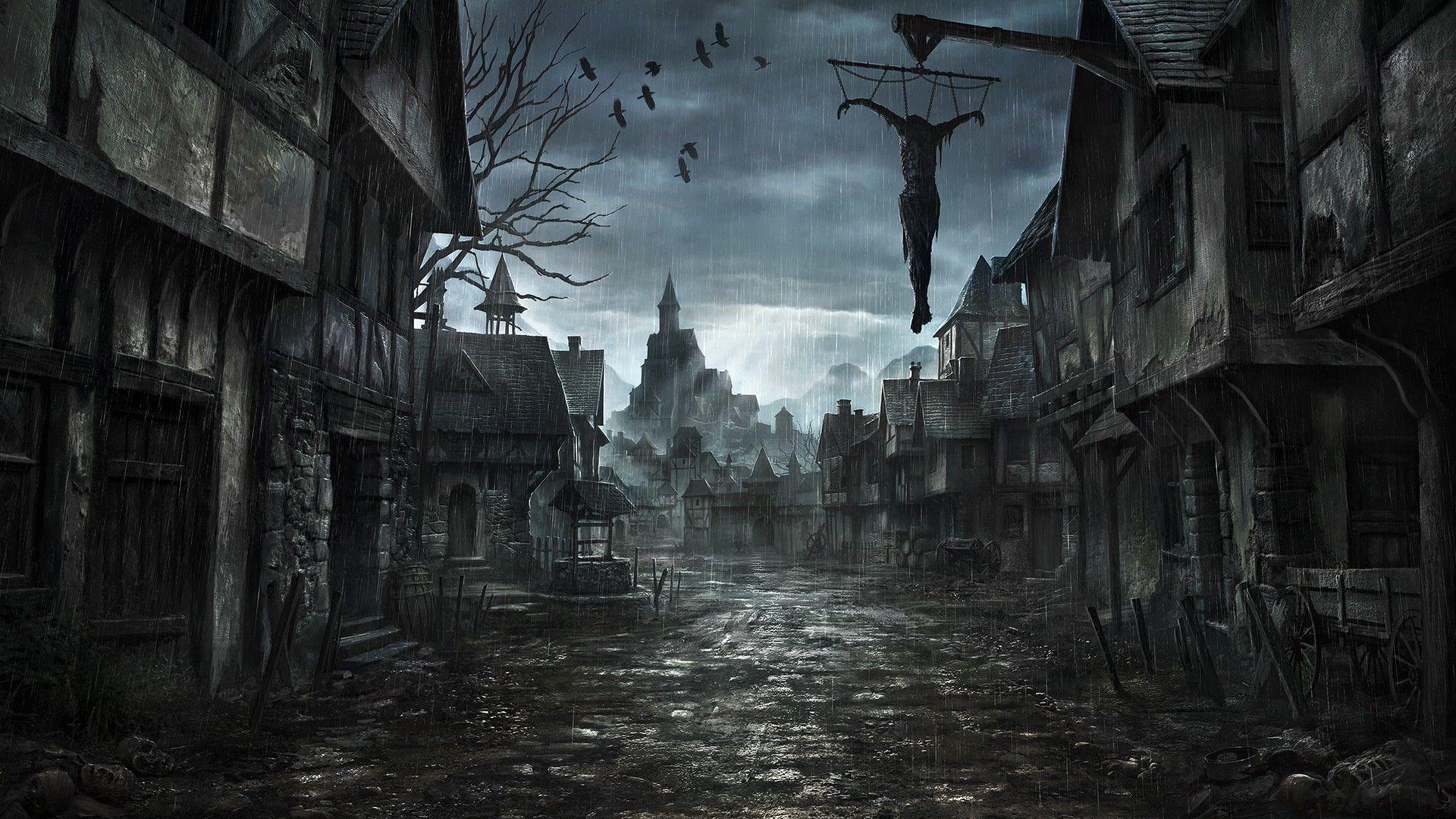 Dark fantasy wallpaper   Night Beauty / Красота ночи