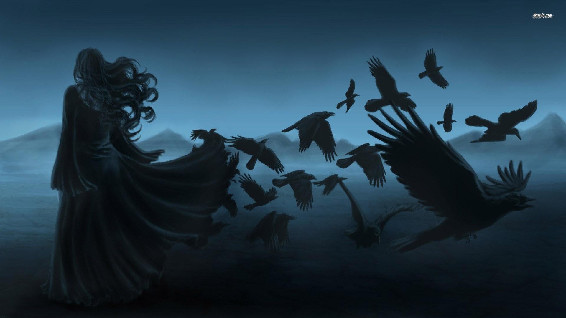 Crescent Moon School of Magic & Paganism: Morrigan Dark Moon Esbat .