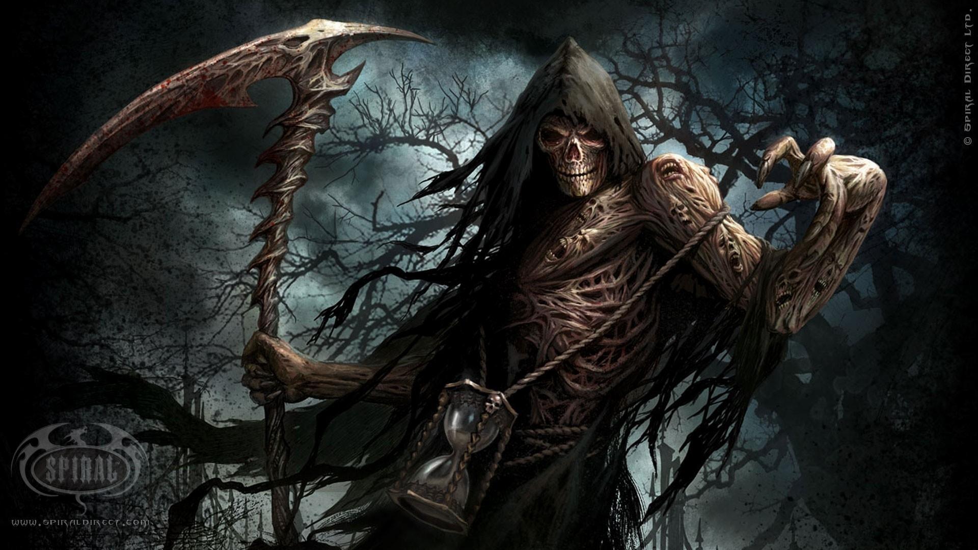 death-trees-dark-night-text-scythe-video-skeletons-
