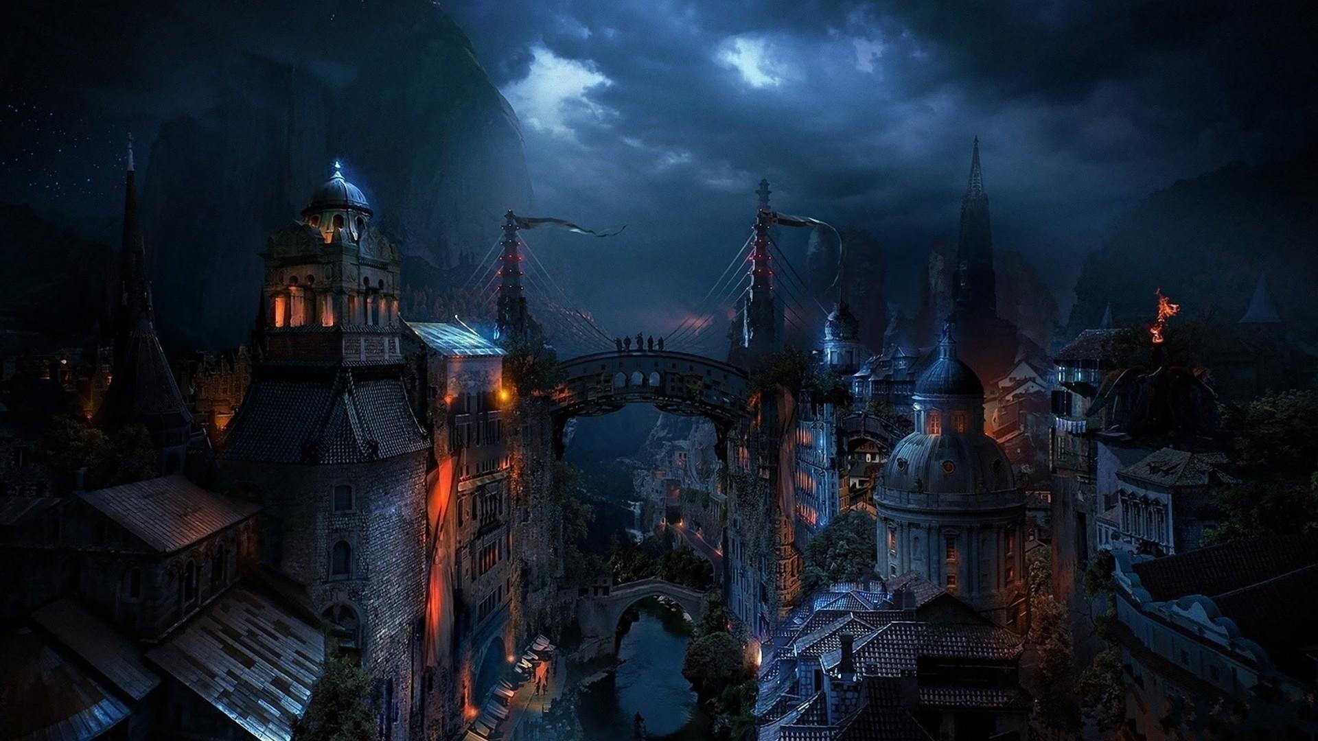 Image – Dark-medieval-city-fantasy-hd-wallpaper-1920×1080-2069.jpg    Constructed Worlds Wiki   FANDOM powered by Wikia