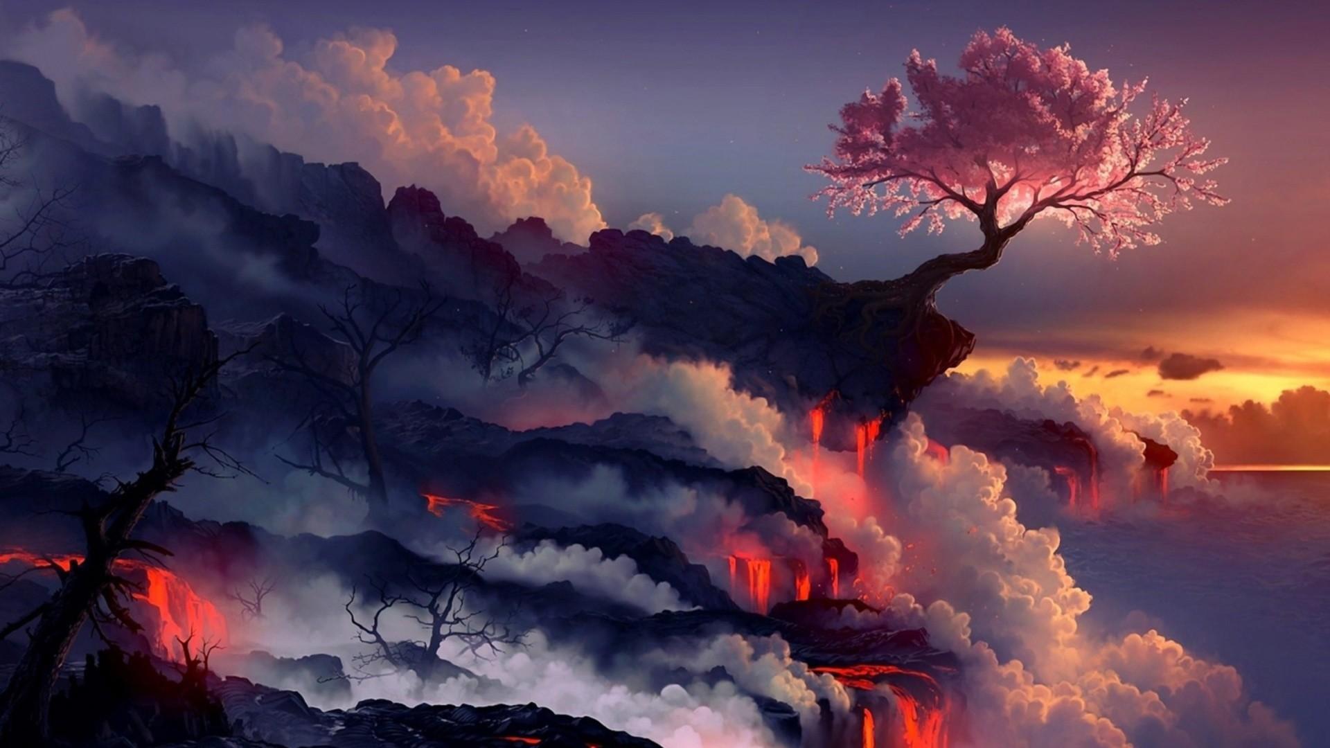High Resolution Amazing Fantasy Landscape Wallpaper HD 27 Full …    Download Wallpaper   Pinterest   Fantasy landscape, Art google and Fantasy  art …