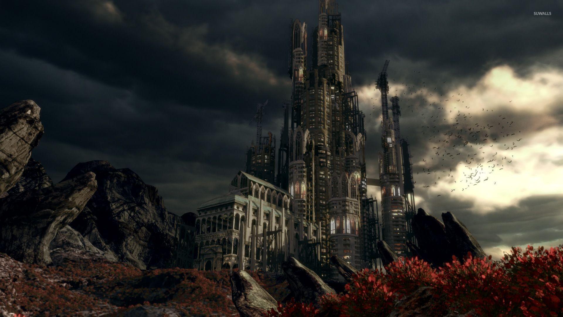 Fantasy Castle Wallpaper HD 1920×1080