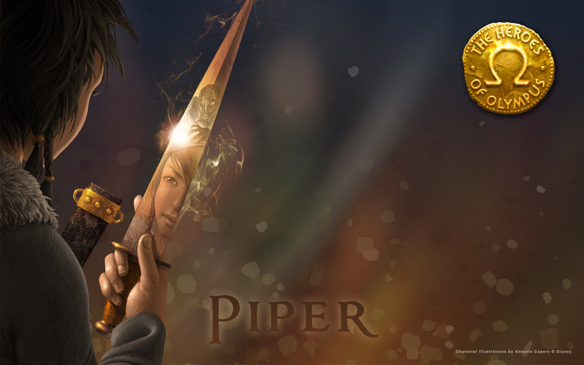 Couples of Percy Jackson Series images Piper HD wallpaper and background  photos