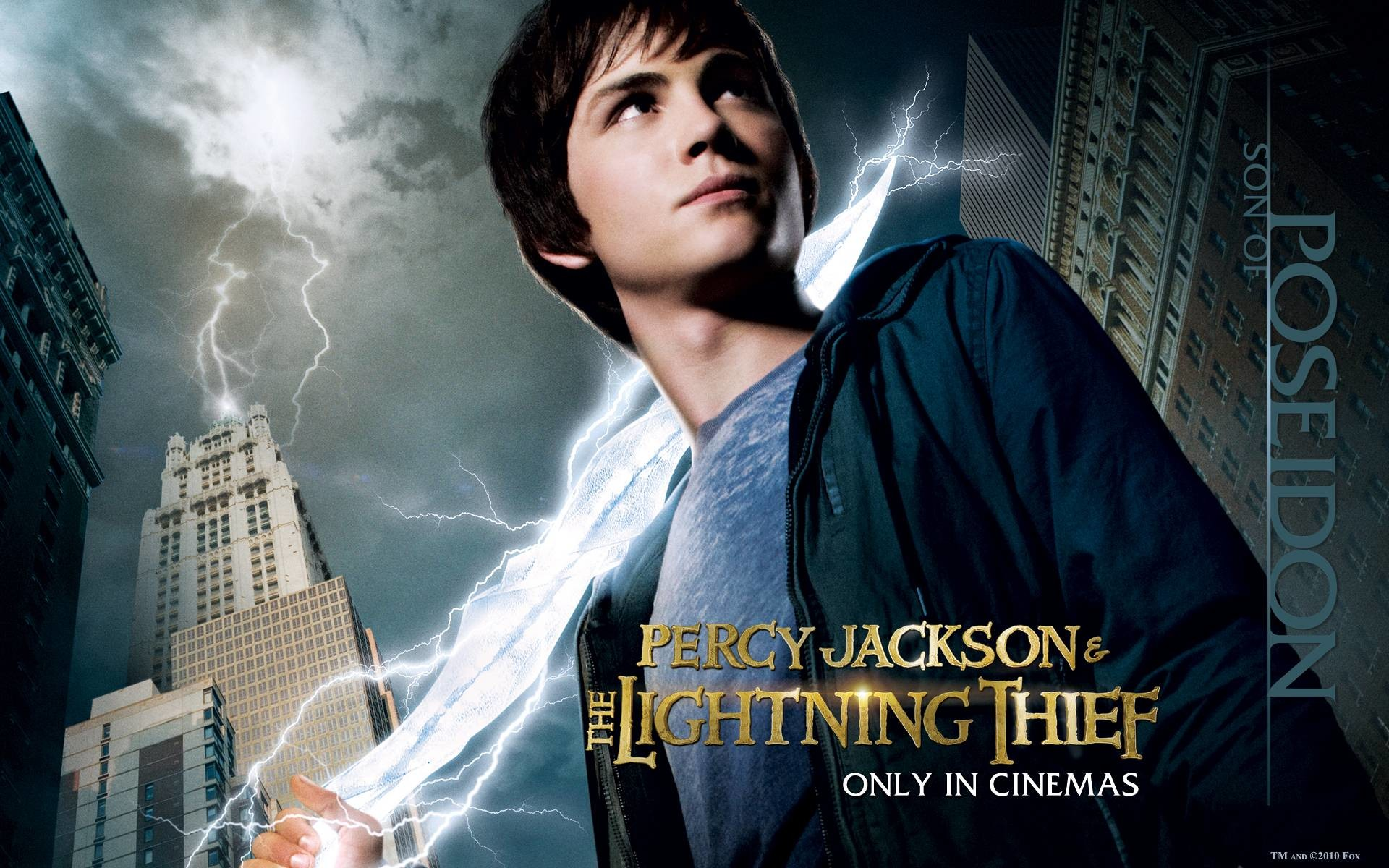 Percy Jackson & The Olympians: The Lightning Thief Computer .