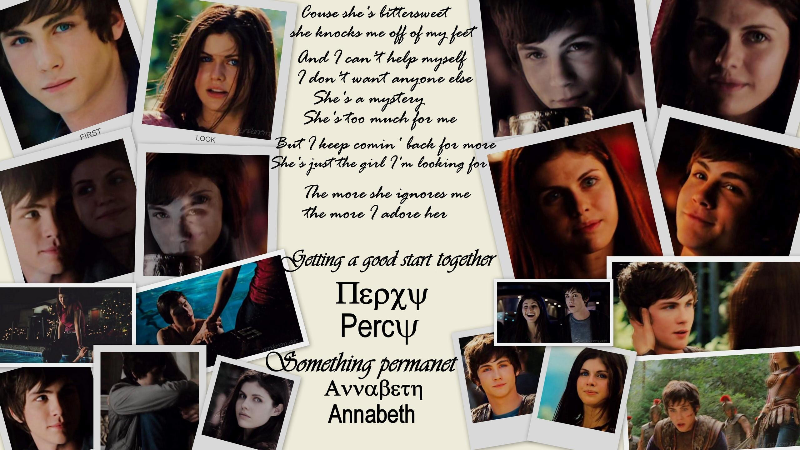 Percy and Annabeth forever! images From the film HD wallpaper and  background photos