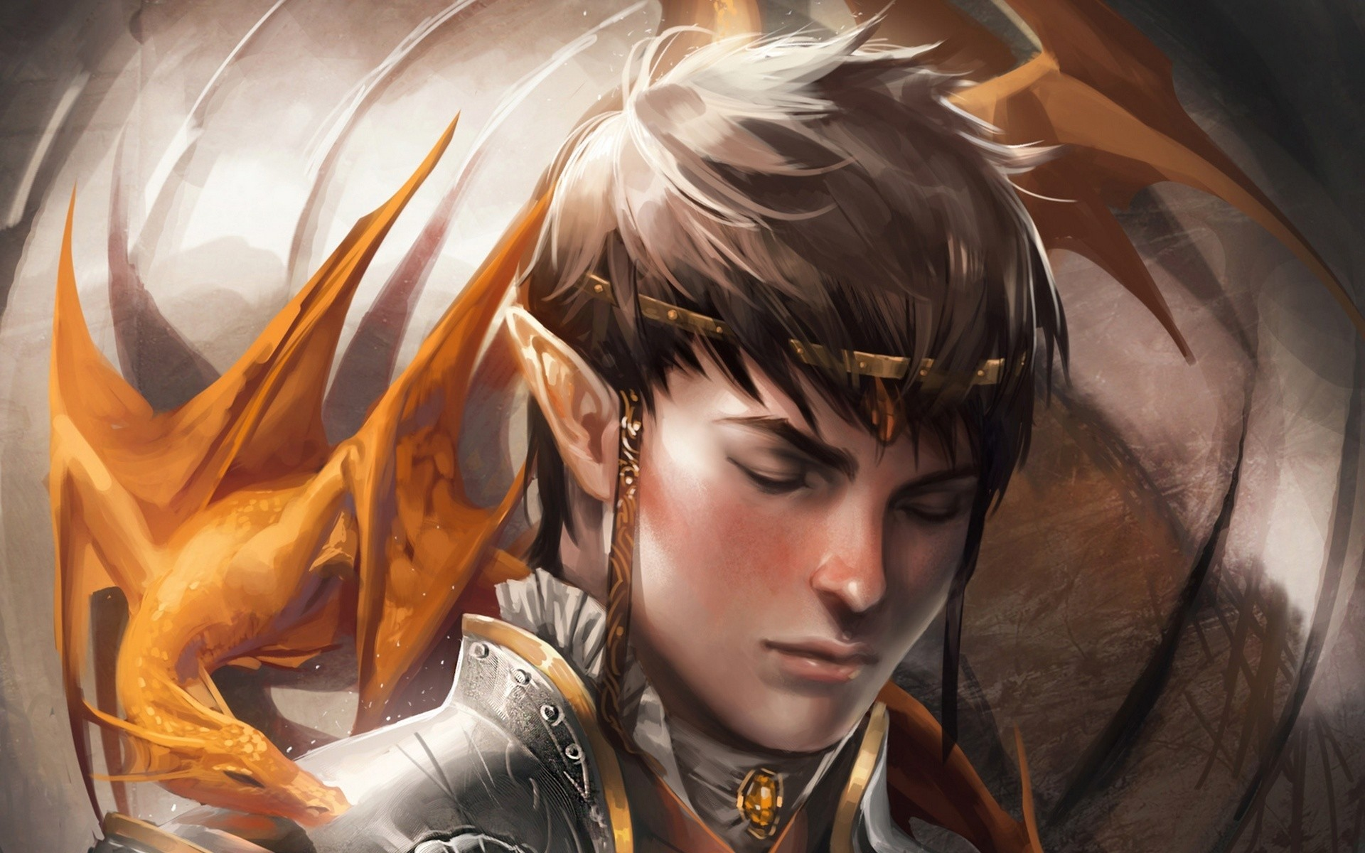 dragon elf fantasy art wallpaper | | 146913 | WallpaperUP .