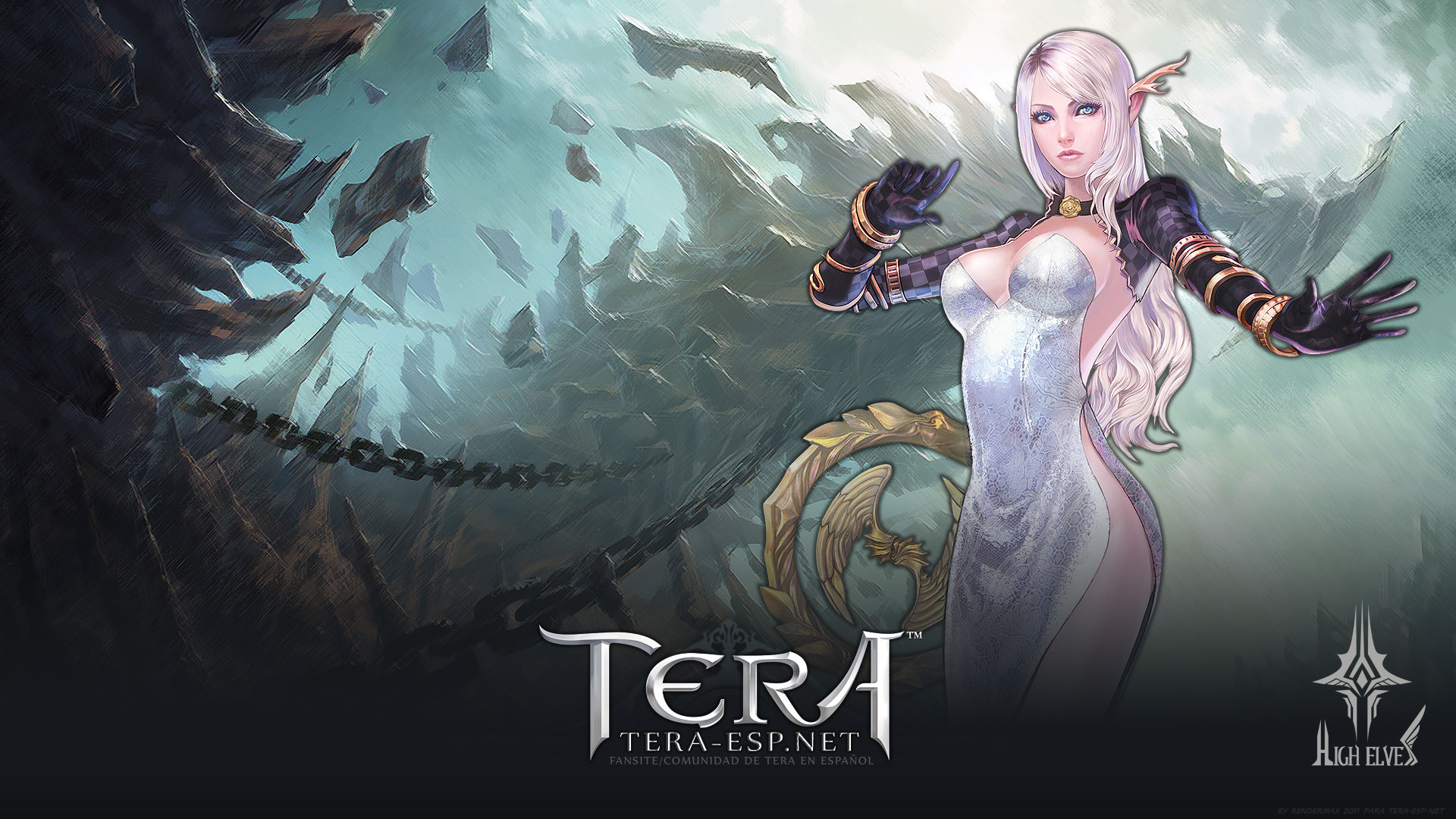 TERA High Elf Female Wallpaper by rendermax on DeviantArt