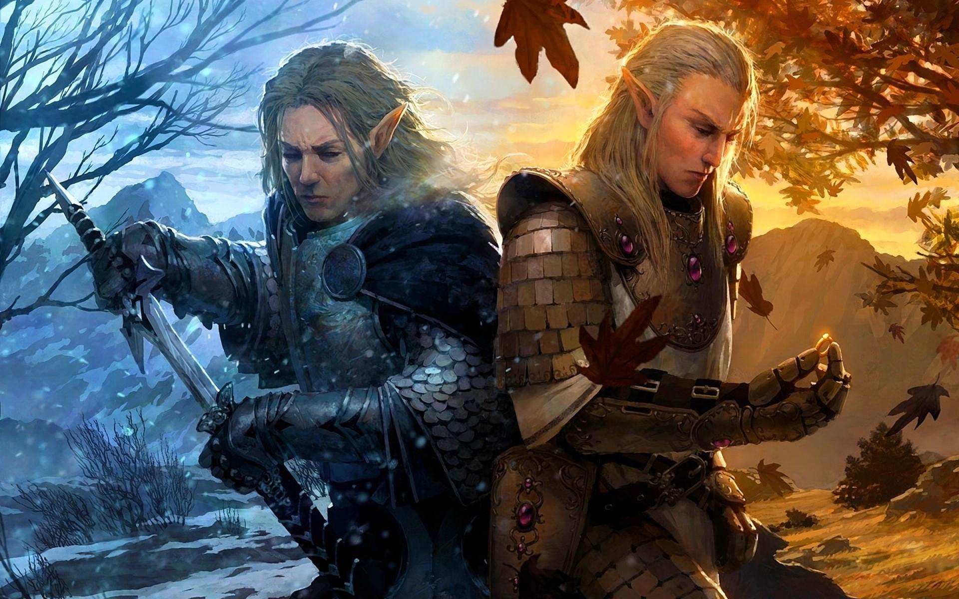 Desktop Dark Elf Warrior Full Hd Pics For Wallpaper Mobile .