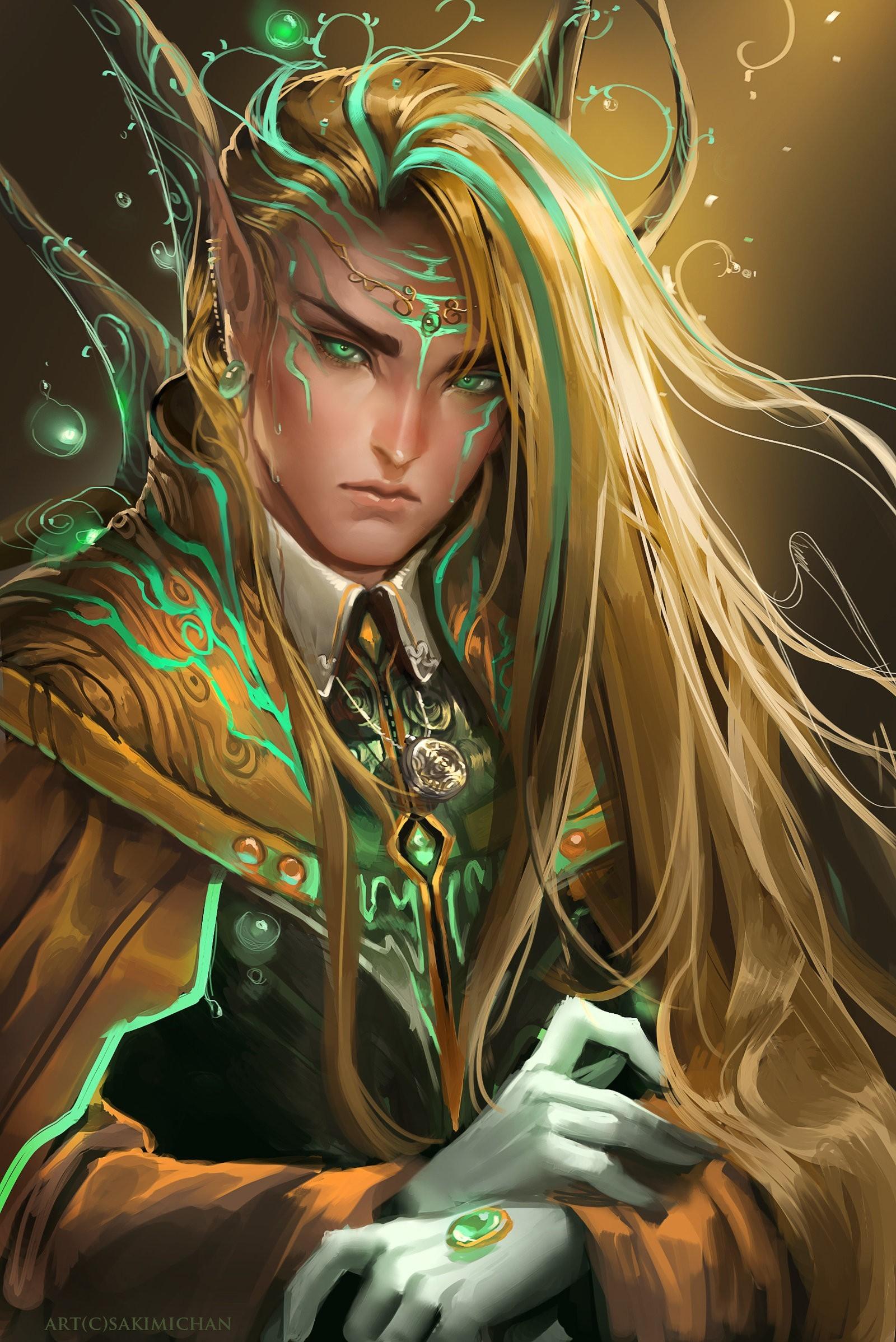 God Elves Wallpaper God, Elves, Sakimichan