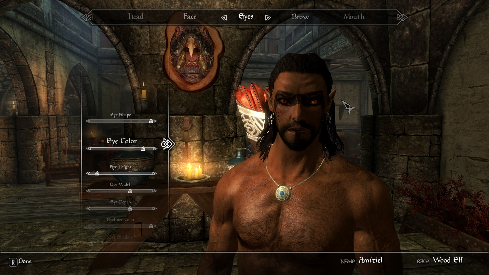 Amitiel – Male Wood Elf Save Added Dark Elf at Skyrim Nexus – mods and  community