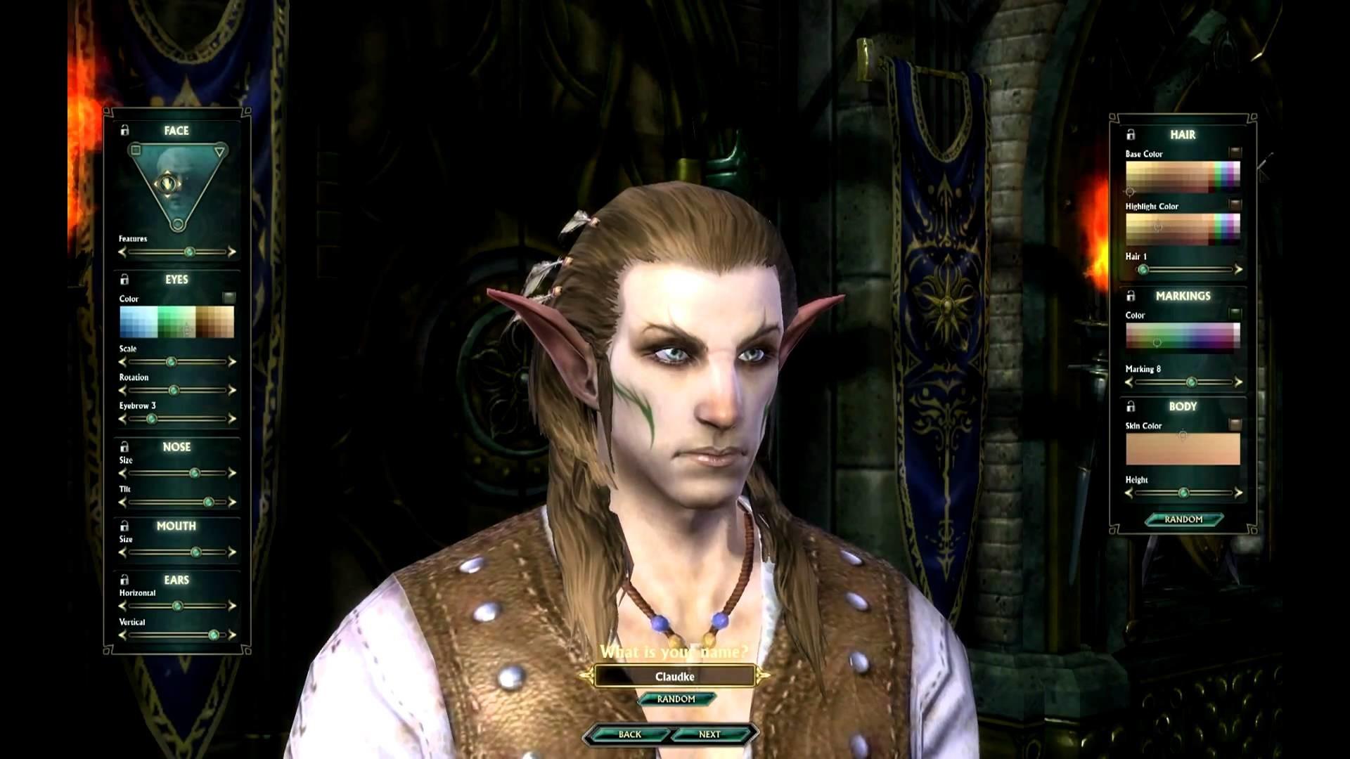 Male High Elf Character Creation – Beta 2 – RIFT – [1080p]