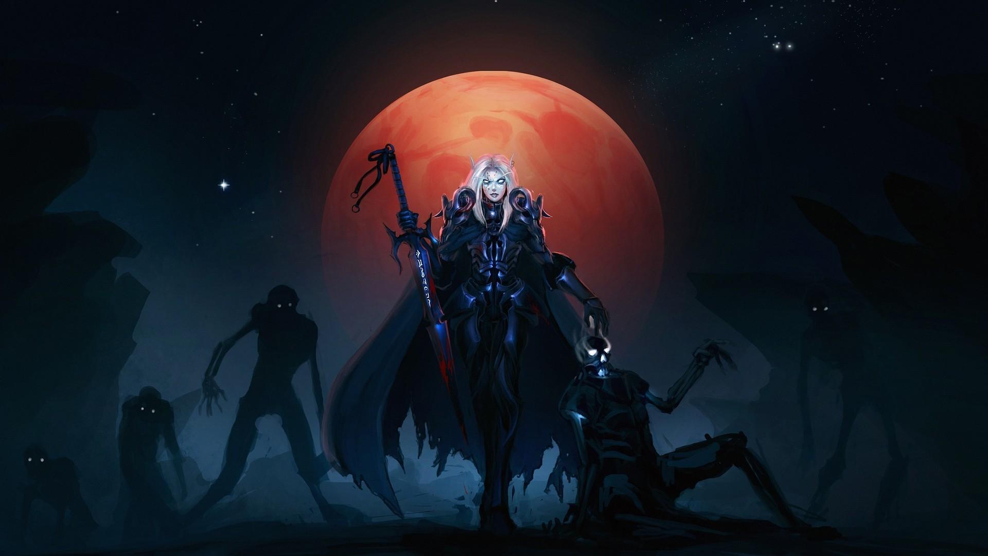 World of Warcraft blood elf Wallpaper #6185