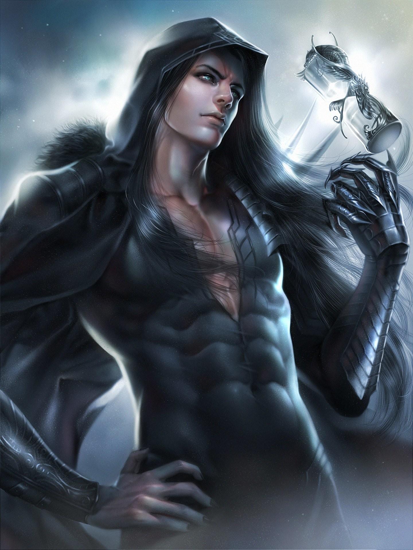 Original fantasy male zeilyan long hair blue eyes wallpaper | |  589500 | WallpaperUP