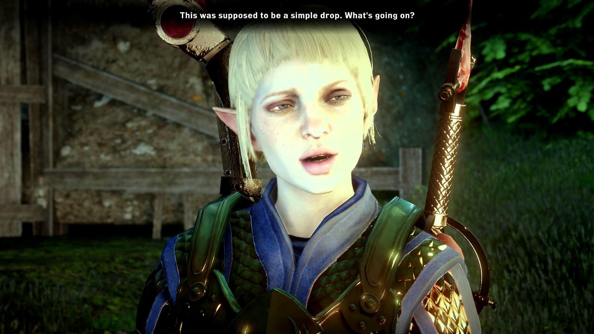 Dragon Age: Inquisition (Male, Elf, Warrior) – Part# 12