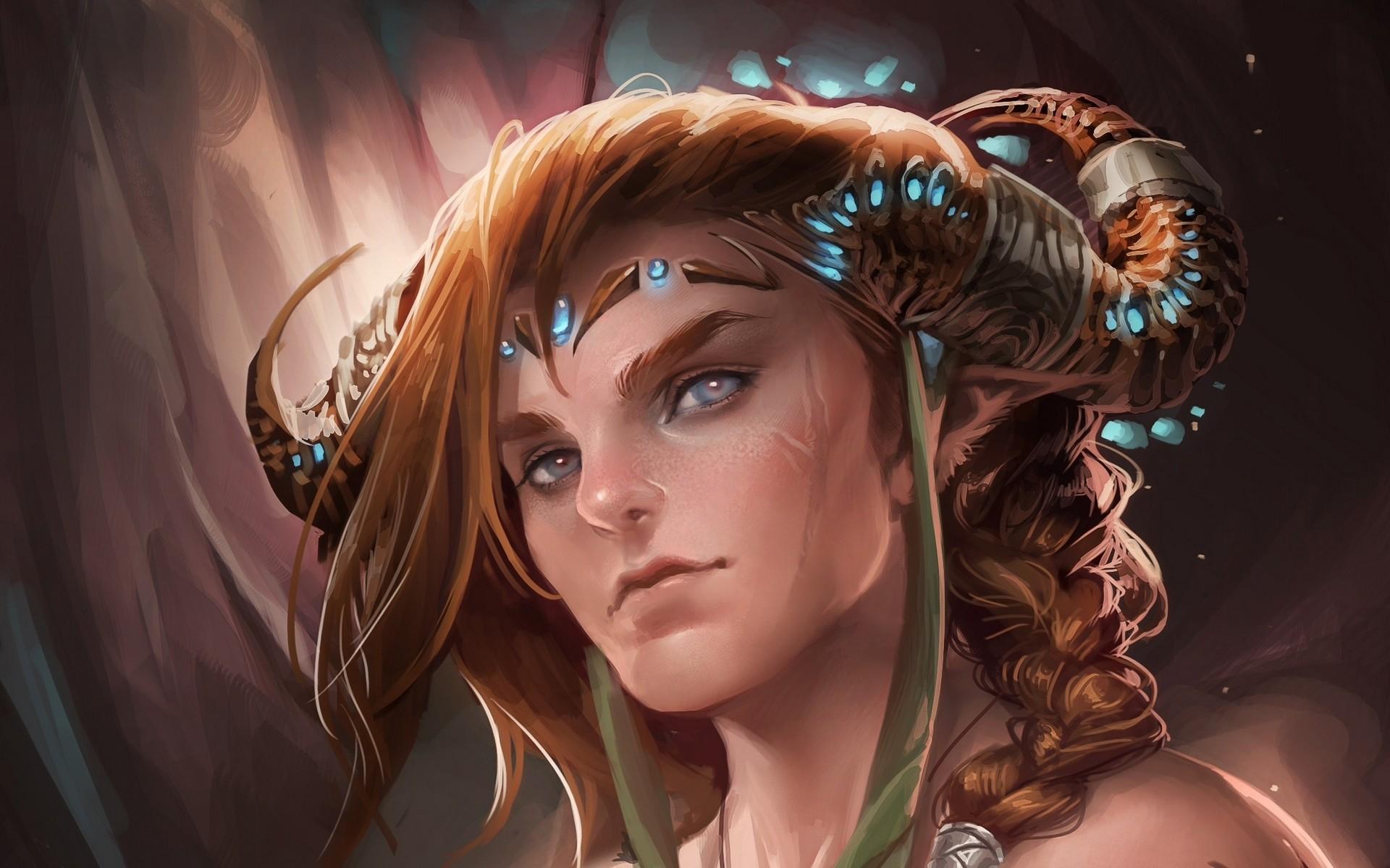 Fantasy – Elf Wallpaper