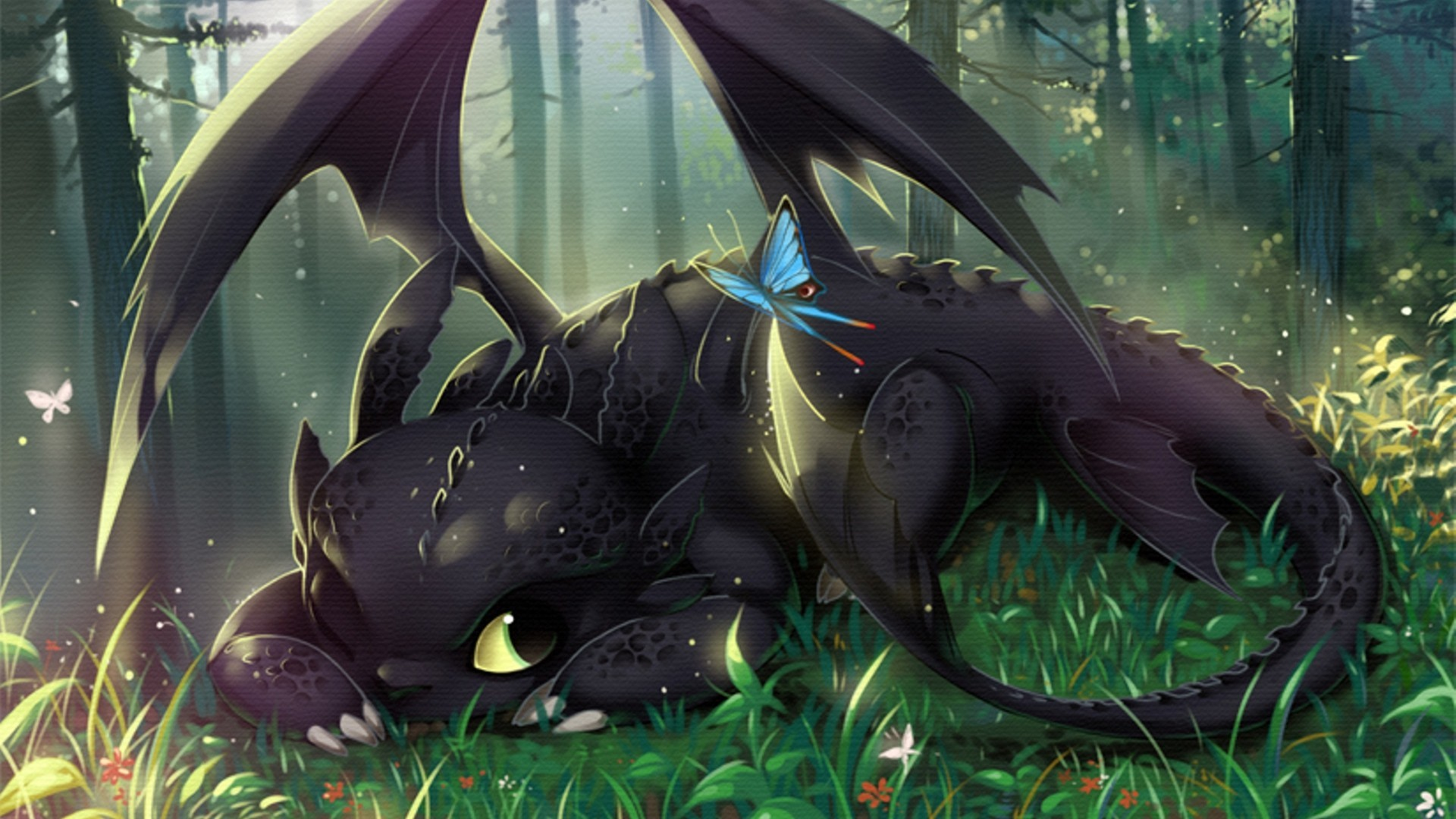 How To Train Your Dragon, Toothless Wallpapers HD / Desktop and Mobile  Backgrounds