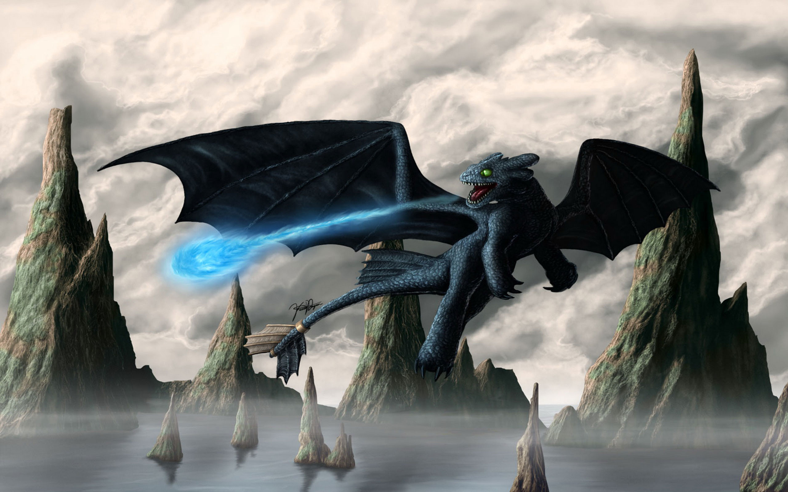 Toothless-How-To-Train-Your-Dragon-Full-HD-