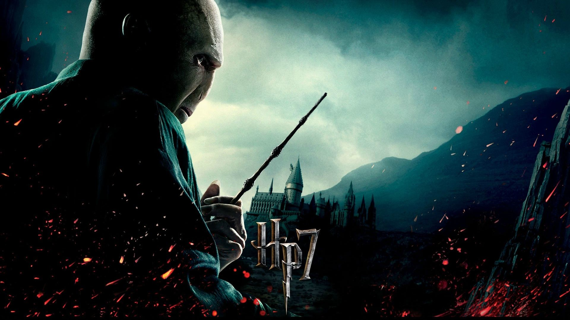 Movie – Harry Potter and the Deathly Hallows: Part 1 Lord Voldemort  Wallpaper