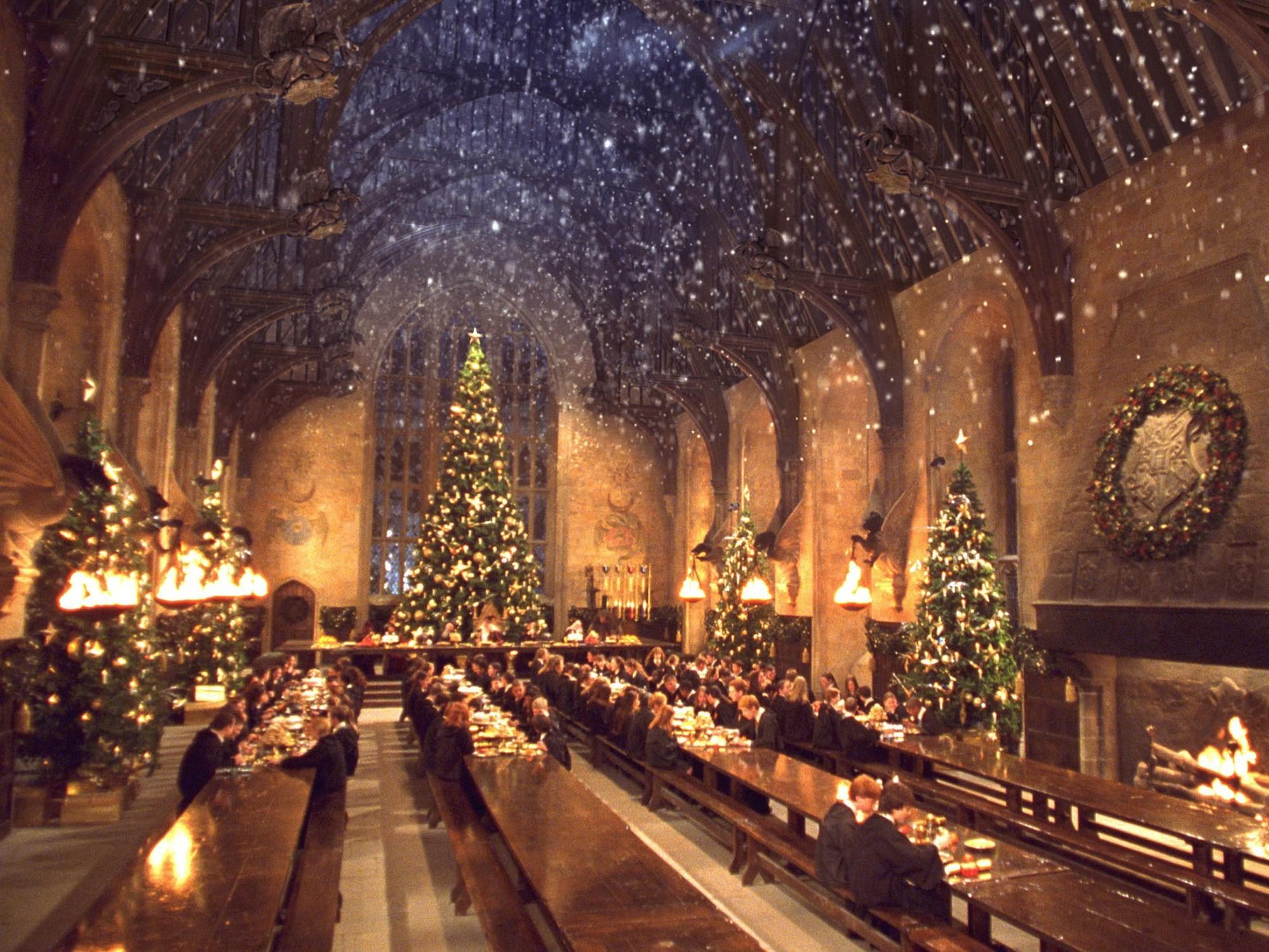Have a Candlelit Christmas Dinner at Harry Potter's Hogwarts РCond̩ Nast  Traveler