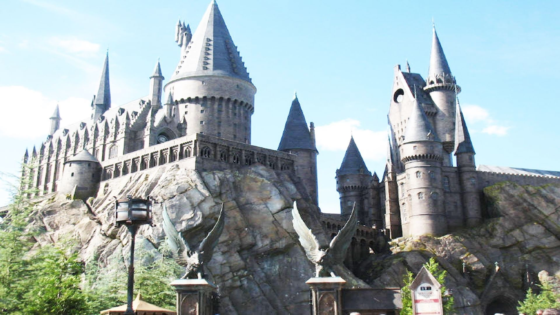 Harry Potter Hogwarts Castle Complete Forbidden Journey POV Universal  Islands Of Adventure – YouTube