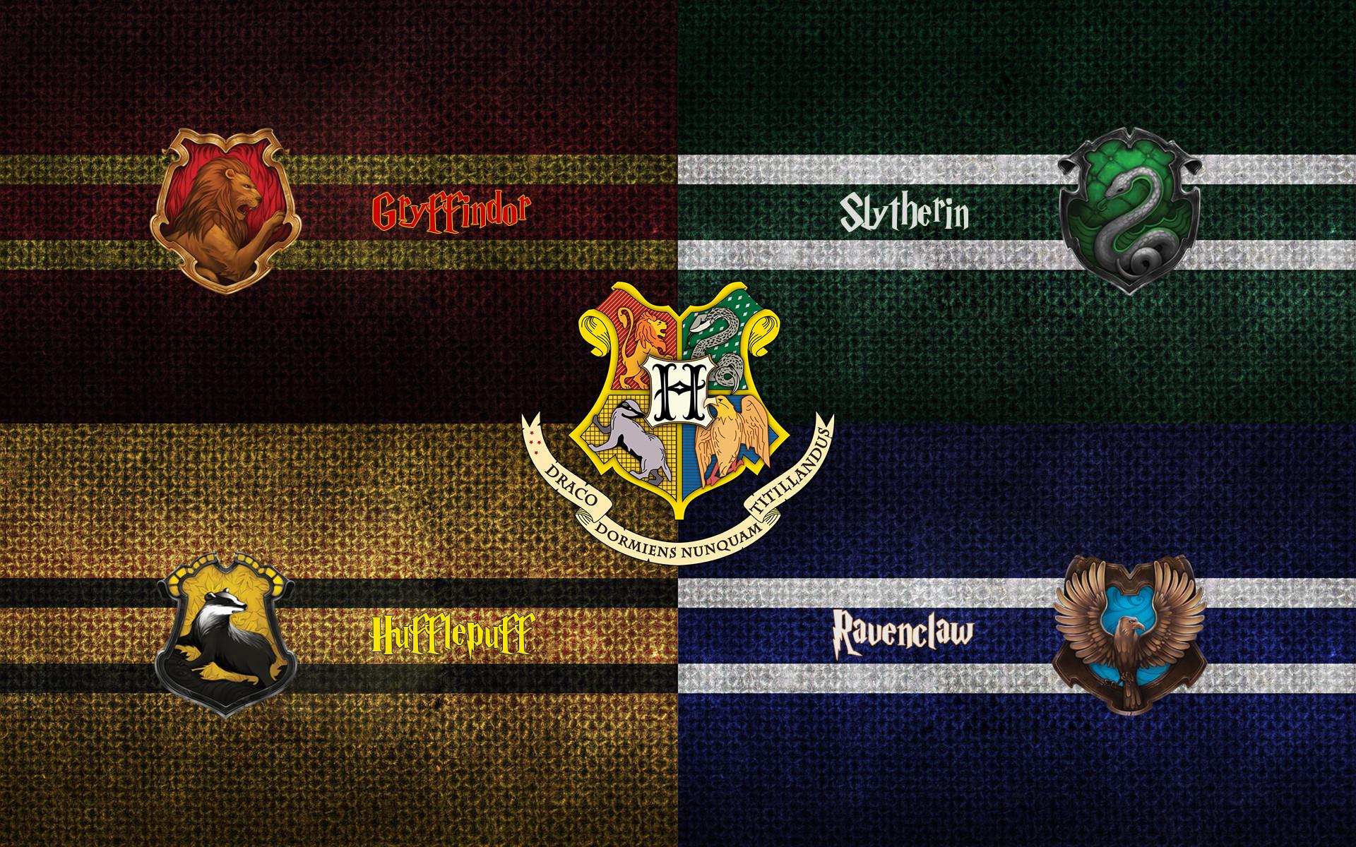 Harry Potter: Hogwarts Houses (1920×1200) …