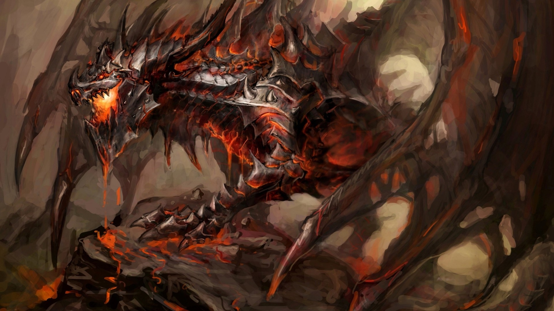 Fire Dragon Wallpaper Background with High Resolution Wallpaper  px 1.10 MB