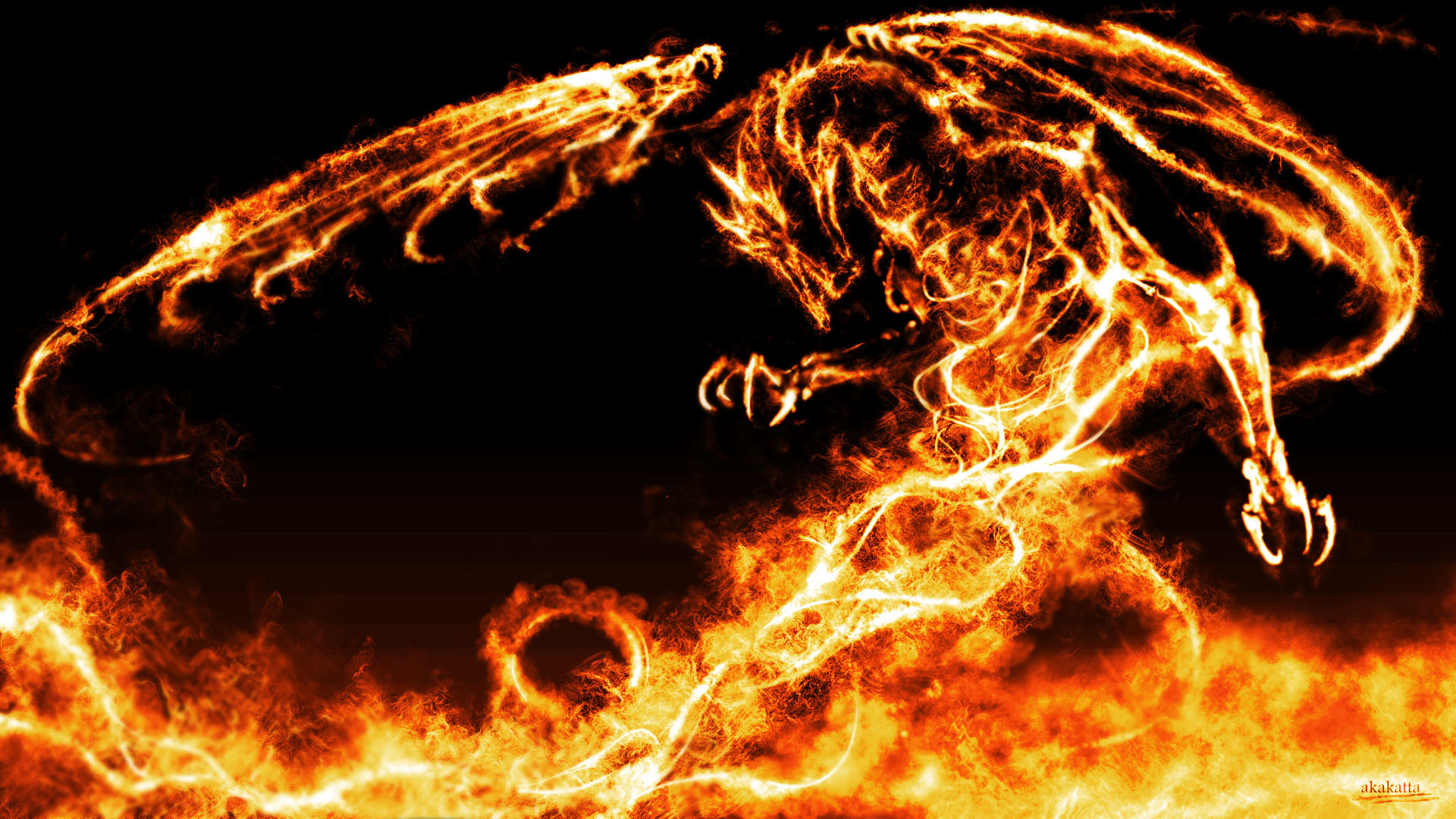 Fire and Ice Dragon Wallpapers – HD Wallpapers