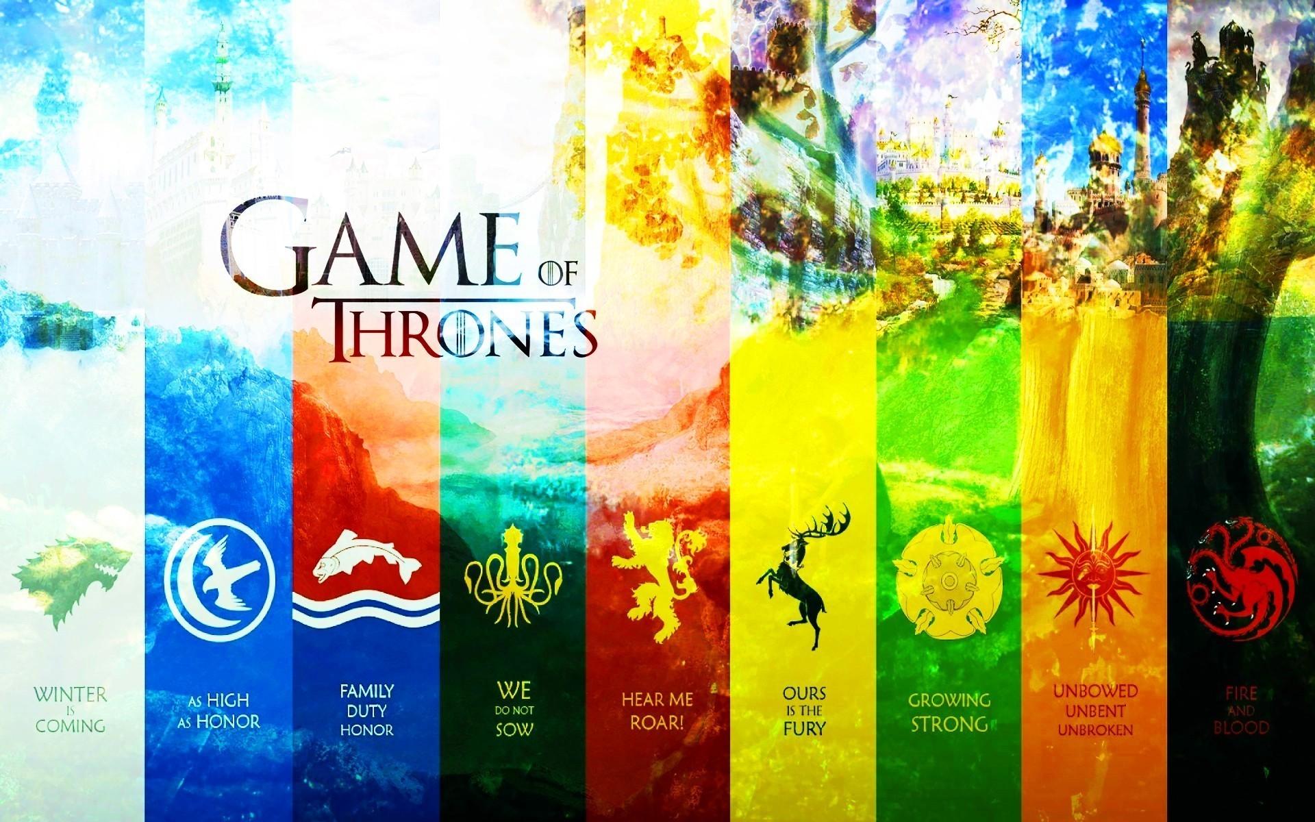 Game of thrones house arryn baratheon greyjoy lannister wallpaper